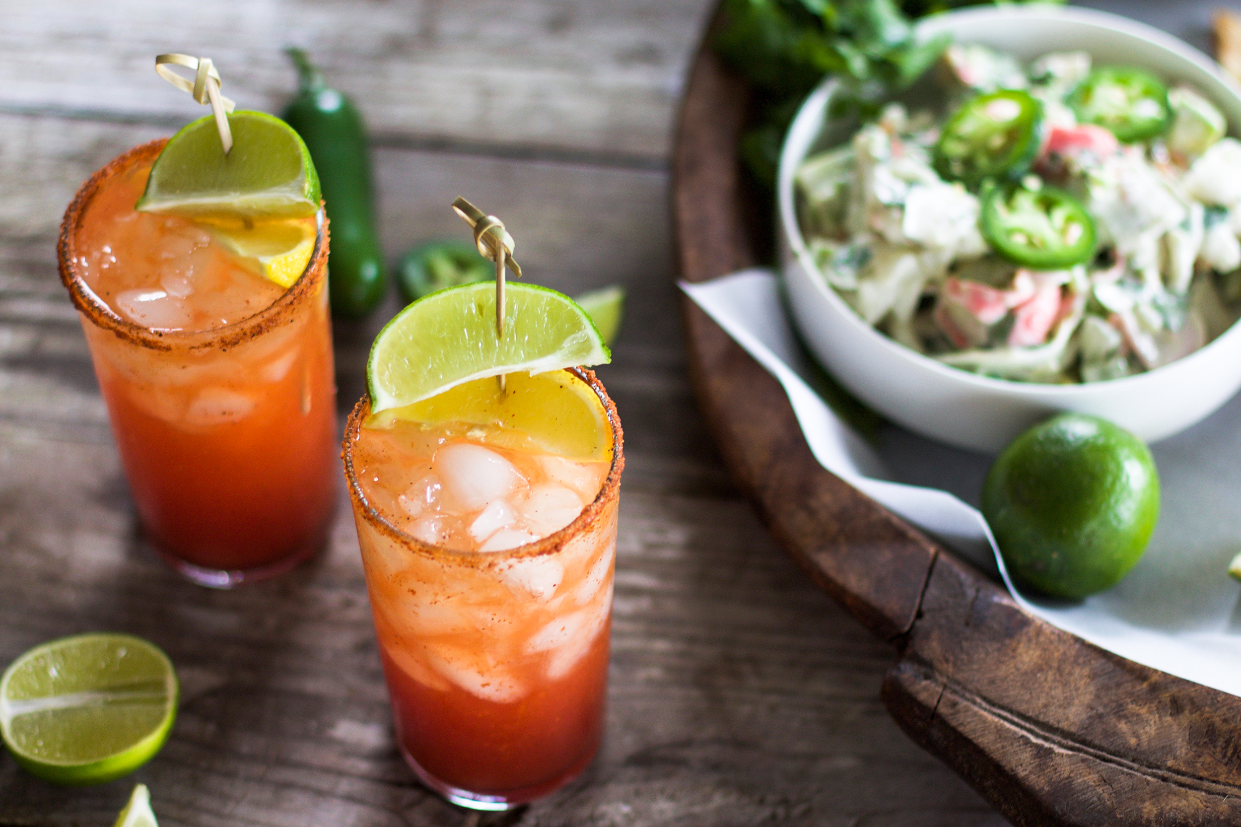 The Ultimate Summer Cajun Michelada: My Diary of Us