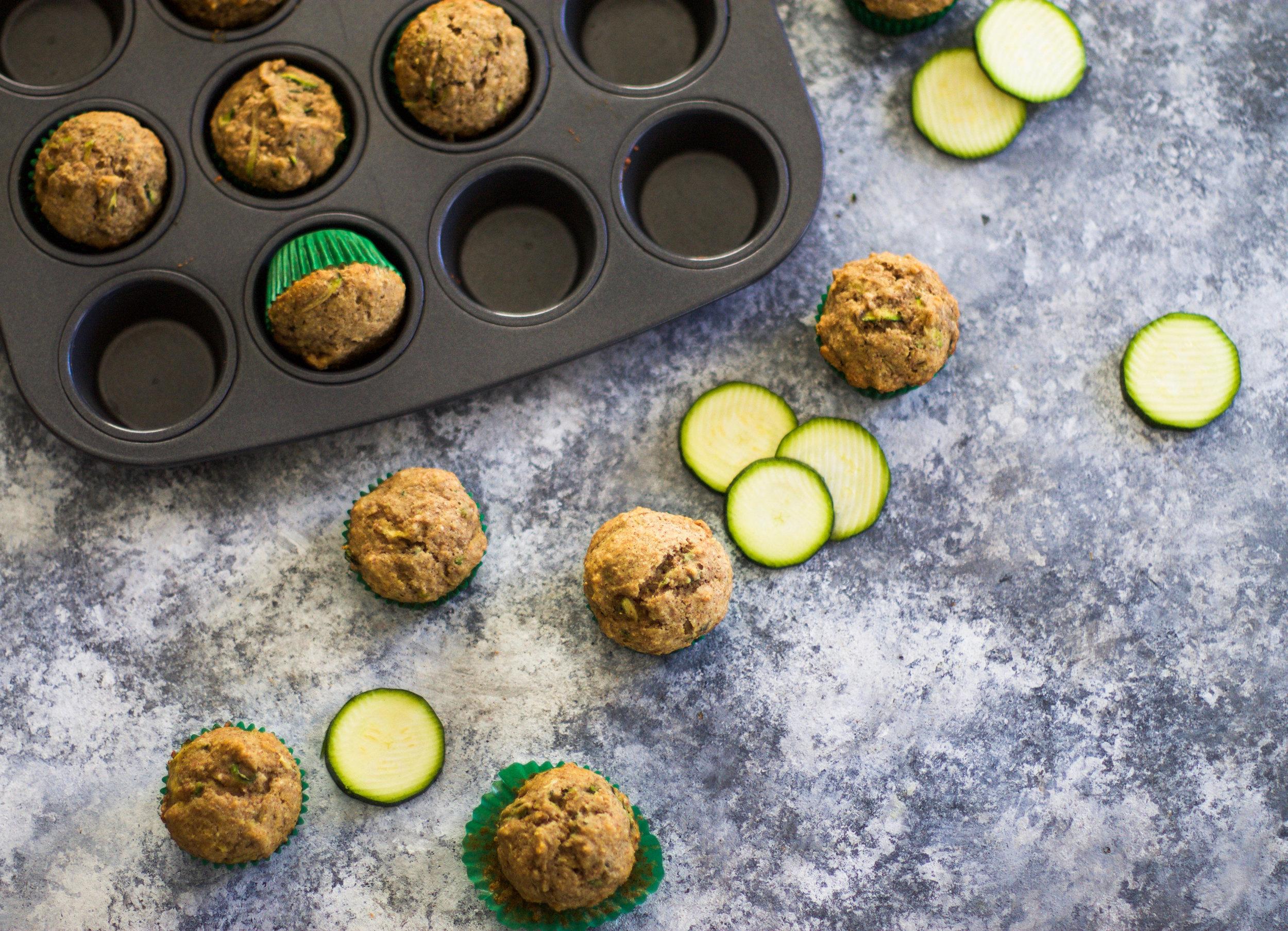 Mini Zucchini Muffins: My Diary of Us