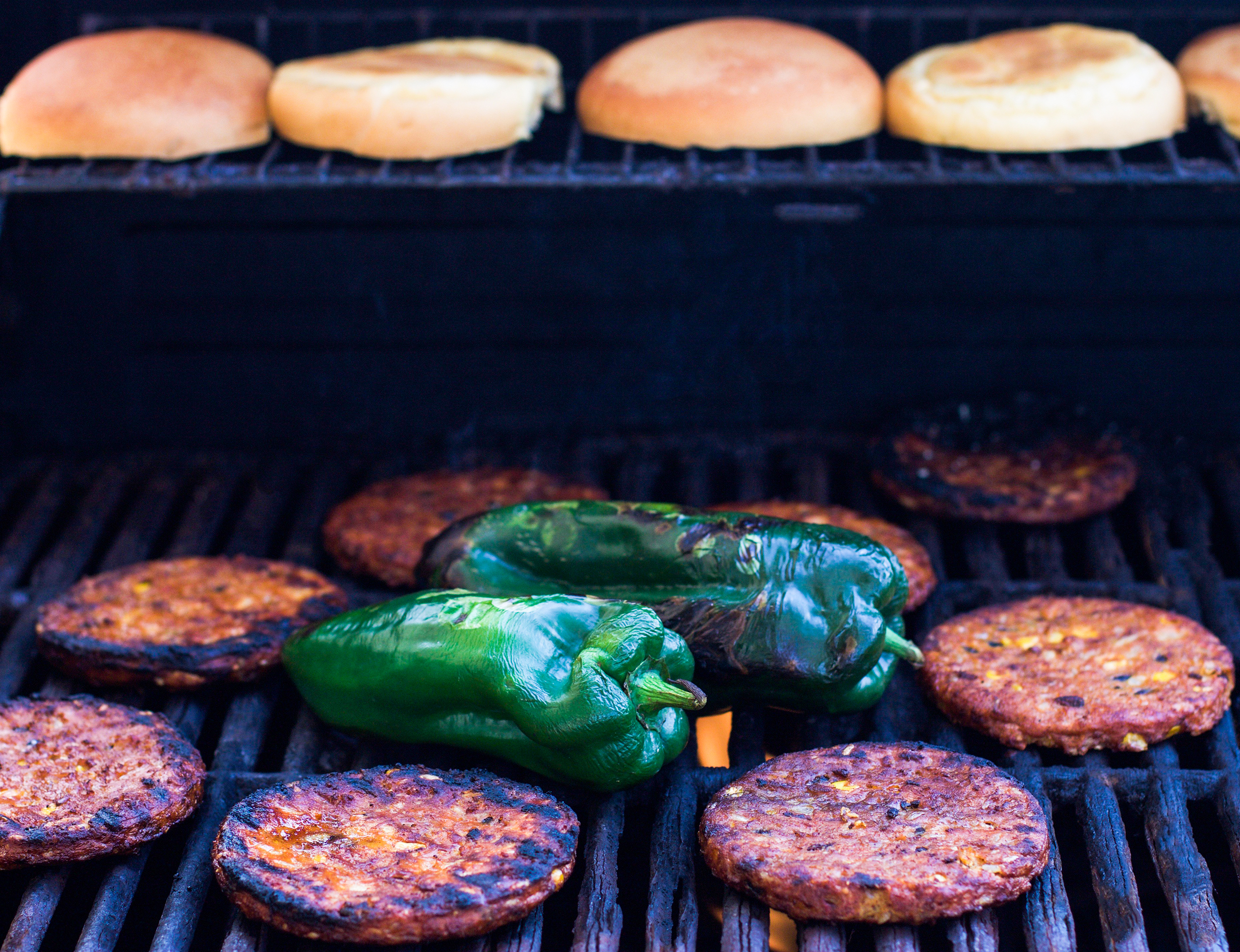 Grilled Spicy Black Bean Burgers: My Diary of Us