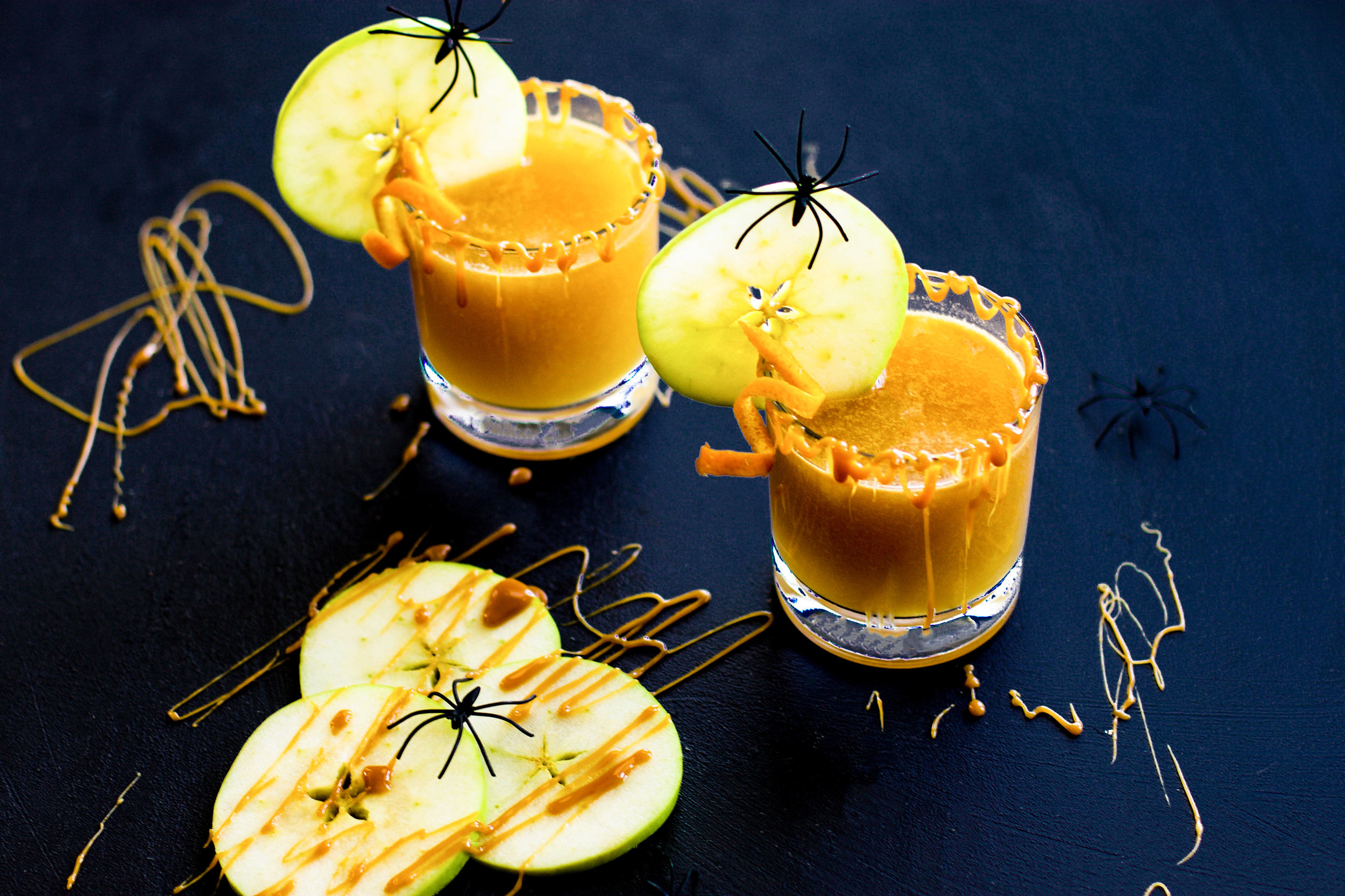 Spiced Caramel Apple Hot Toddy: My Diary of Us
