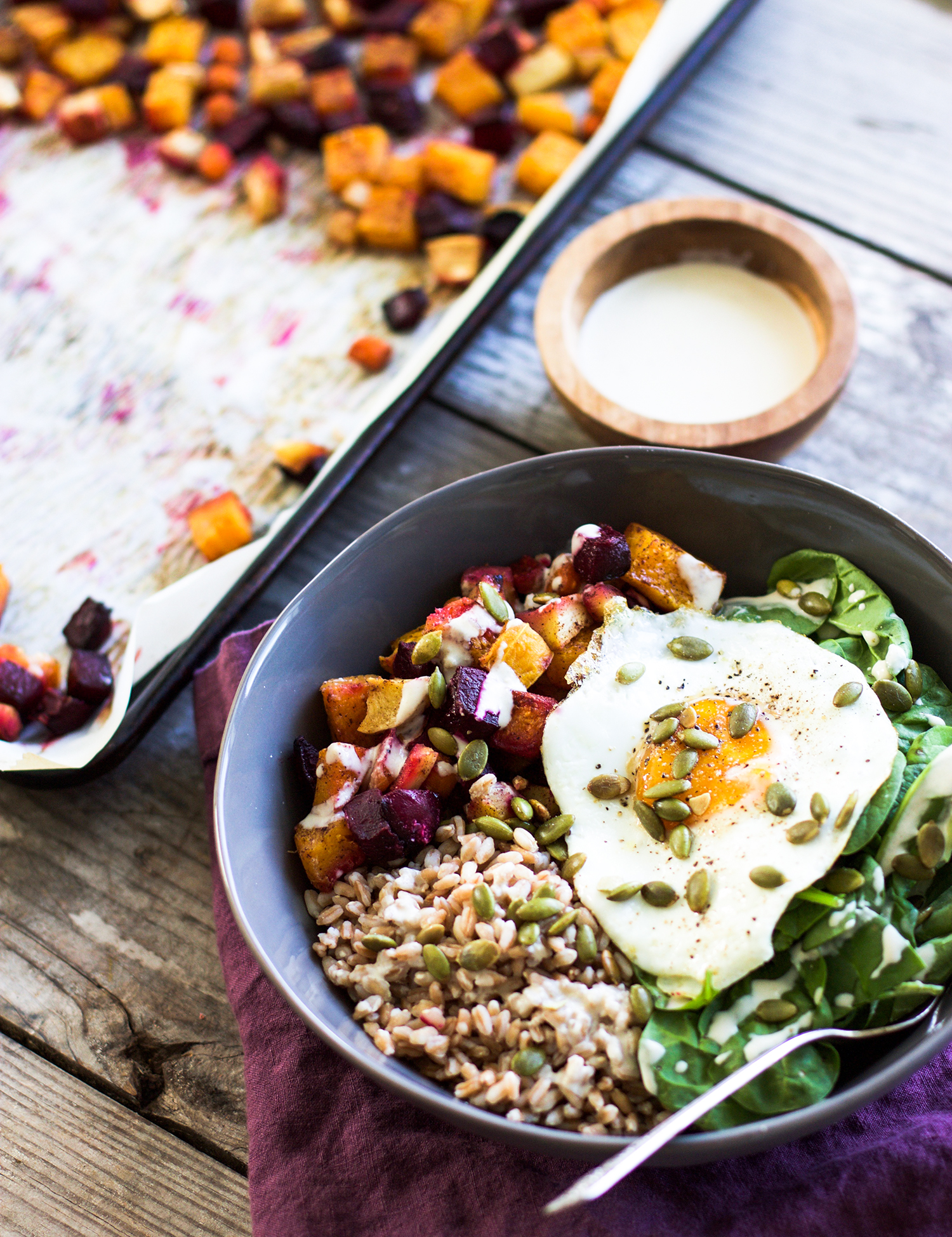 Healthy Autumn Nourish Bowls: My Diary of Us
