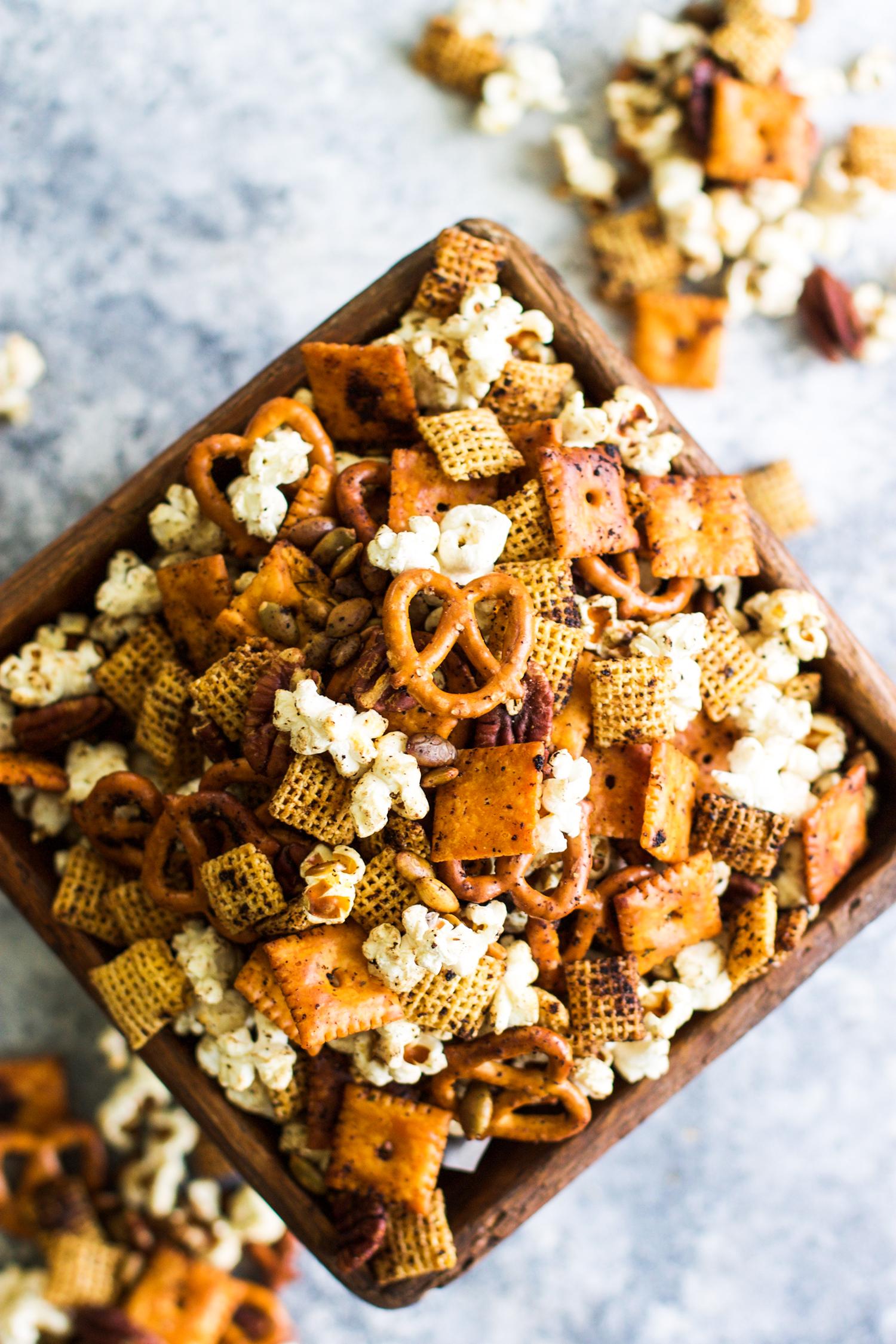 Easy Garlic Ranch Popcorn Snack Mix: My Diary of Us