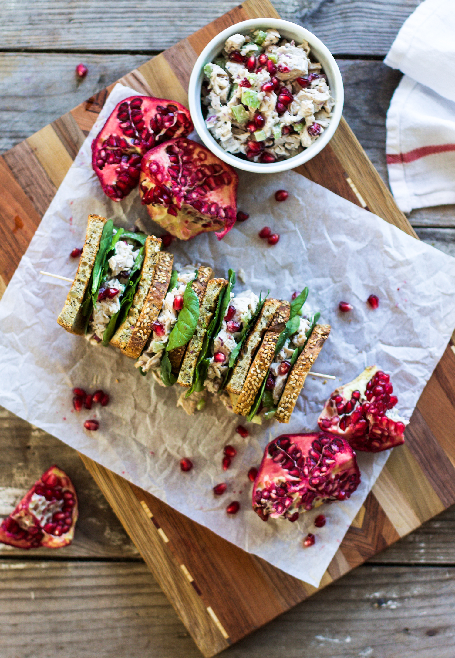 Turkey Pomegranate Salad: My Diary of Us