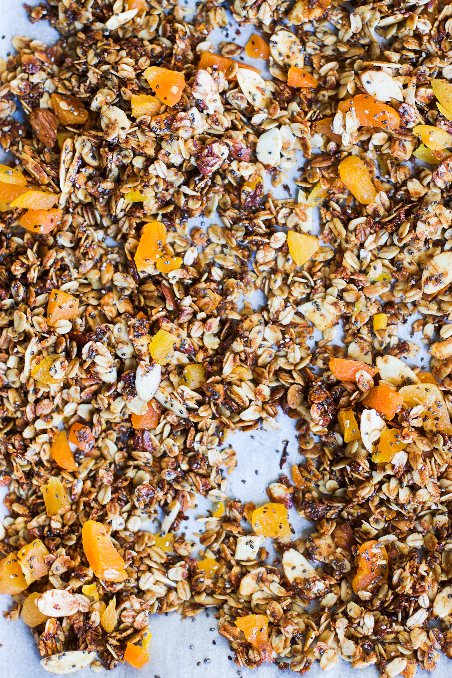 Coconut and Apricot Granola: My Diary of Us