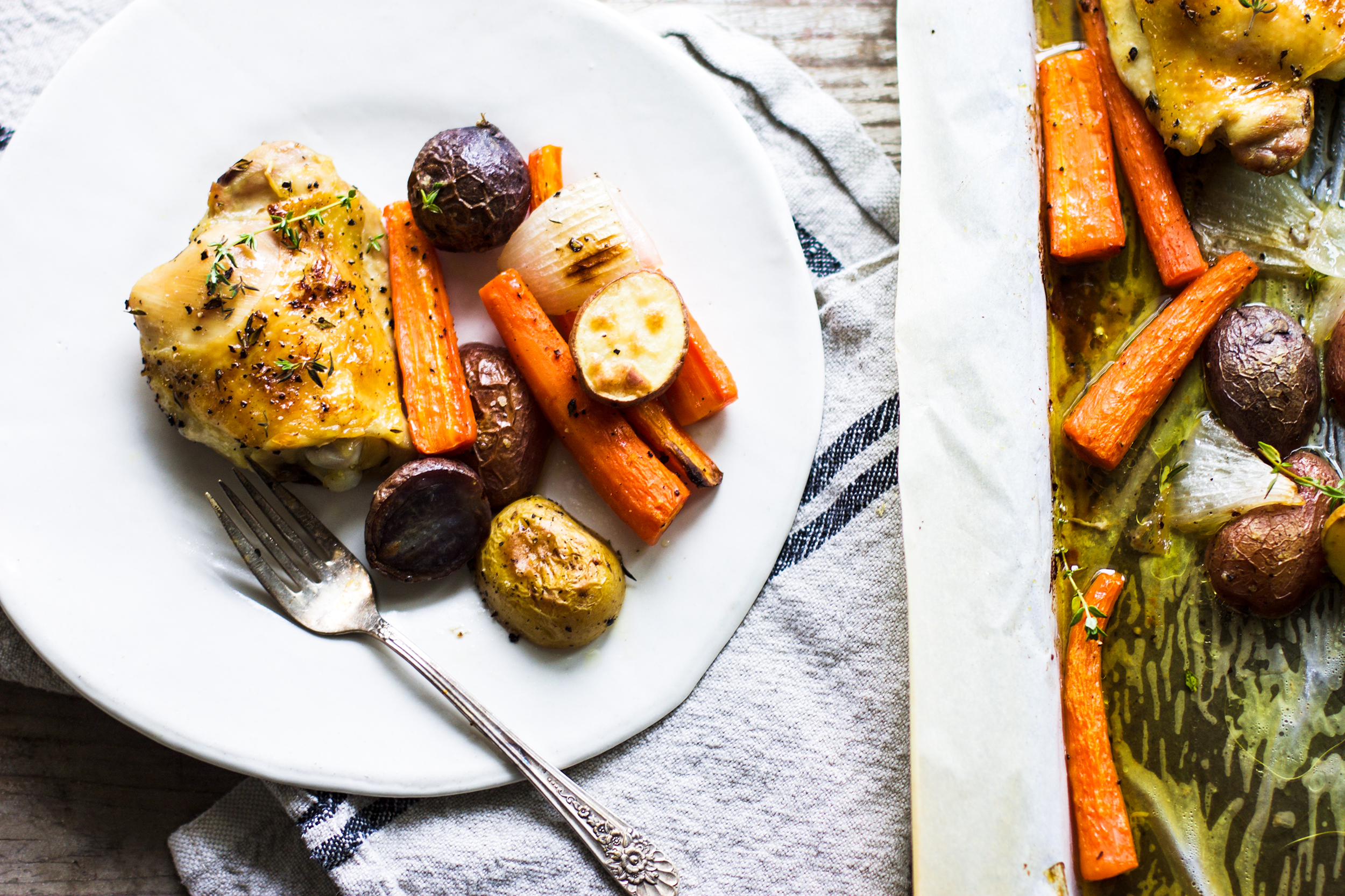 Easy Chicken and Veggie Sheet Pan Dinner: My Diary of Us