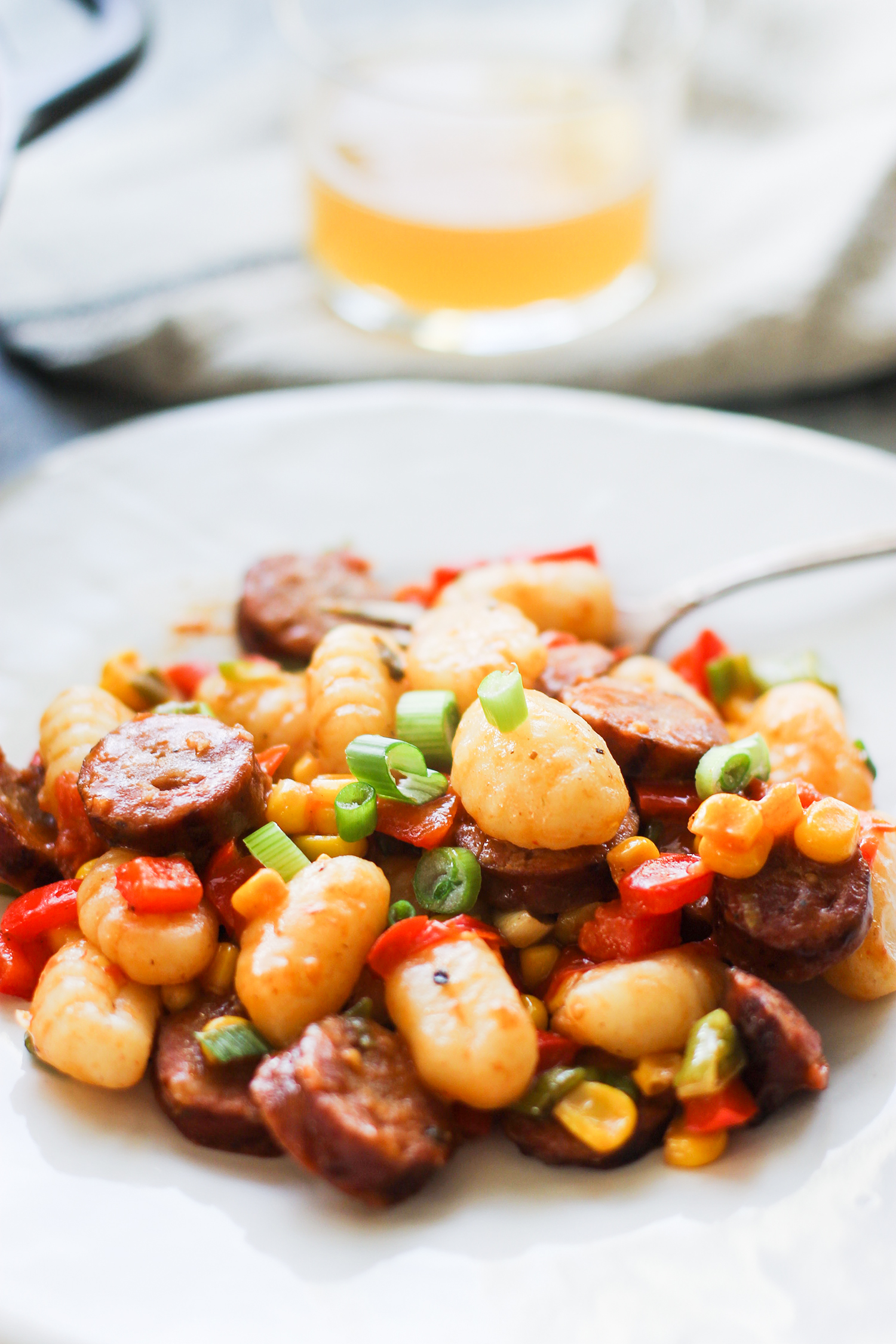 20-MInute Gnocchi Skillet with Smoked Sausage and Veggies: My Diary of Us