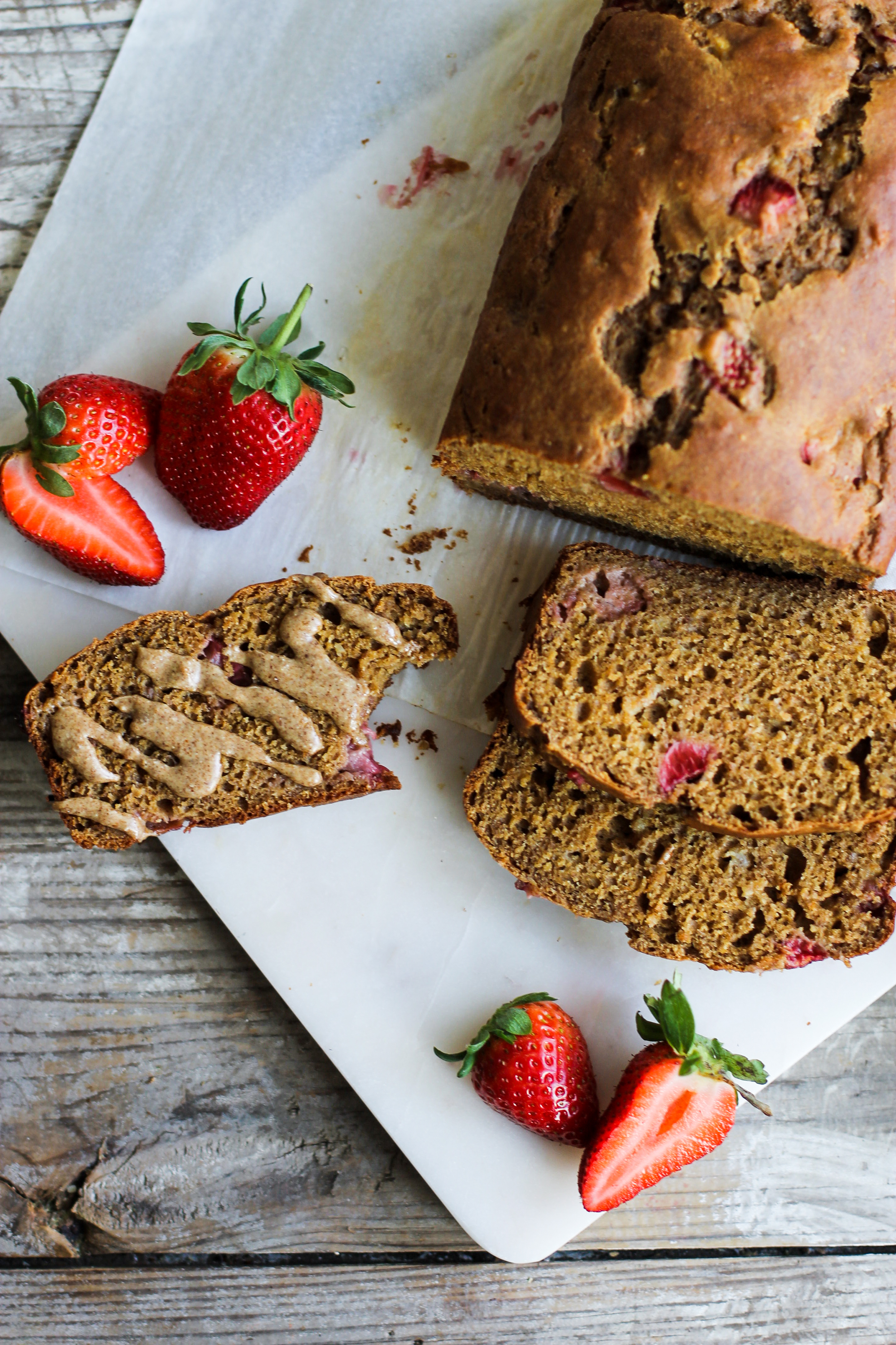 Whole Wheat Strawberry Bread: My Diary of Us