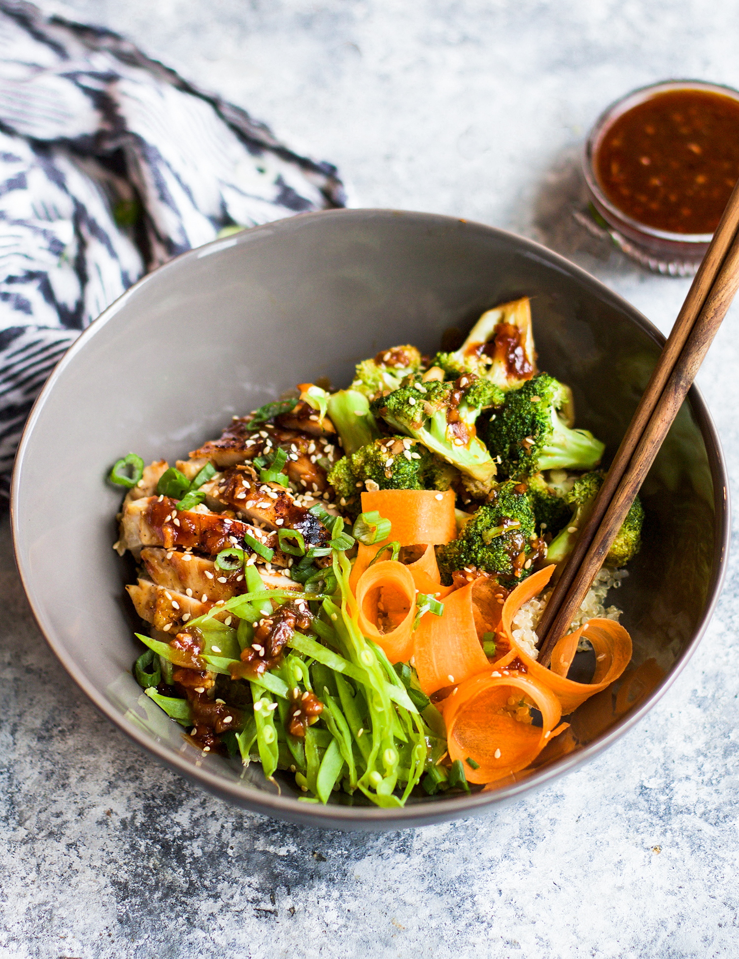 Healthy Sweet and Sour Grilled Chicken Quinoa Bowls: My Diary of Us