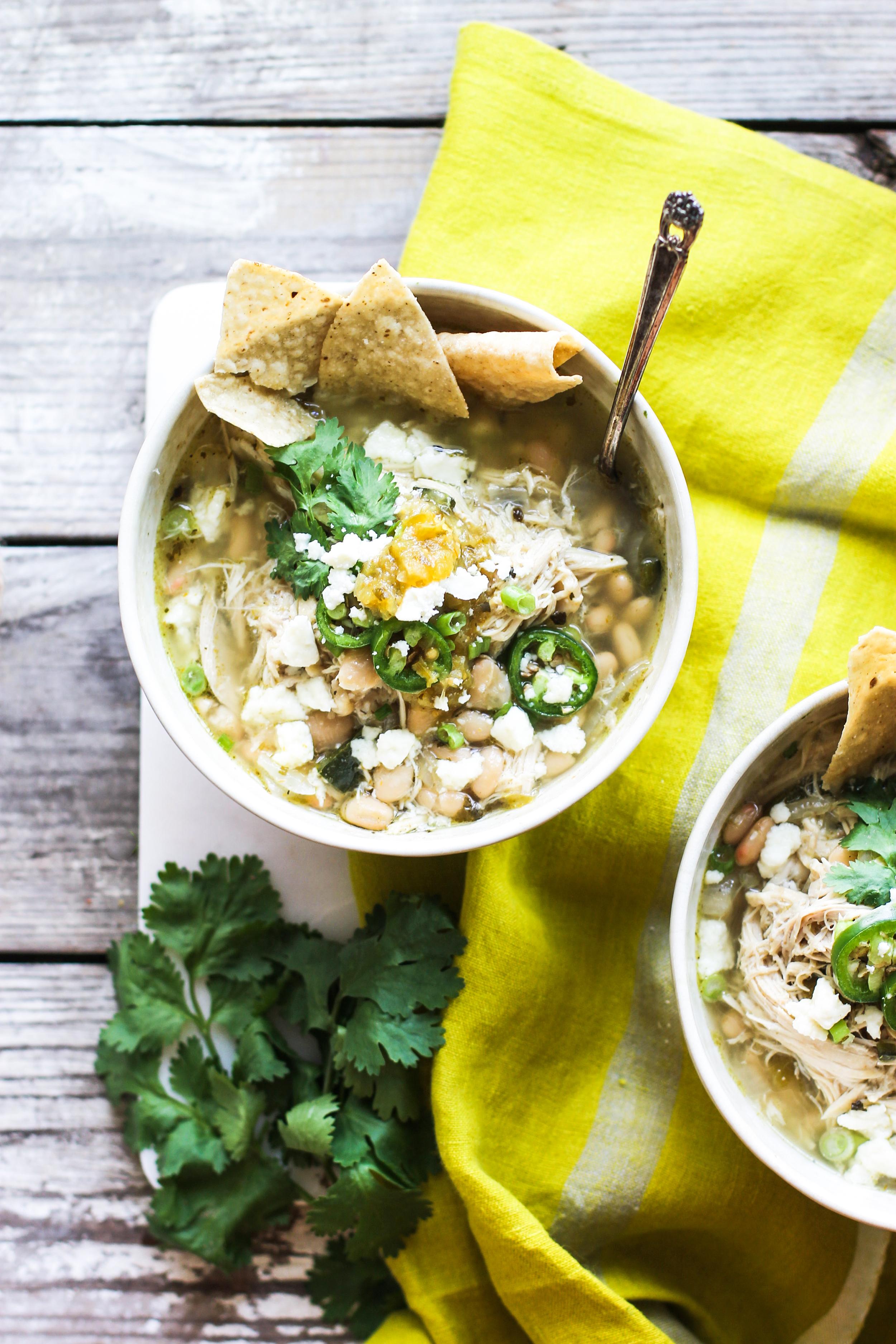 Salsa Verde White Chicken Chili: My Diary of Us