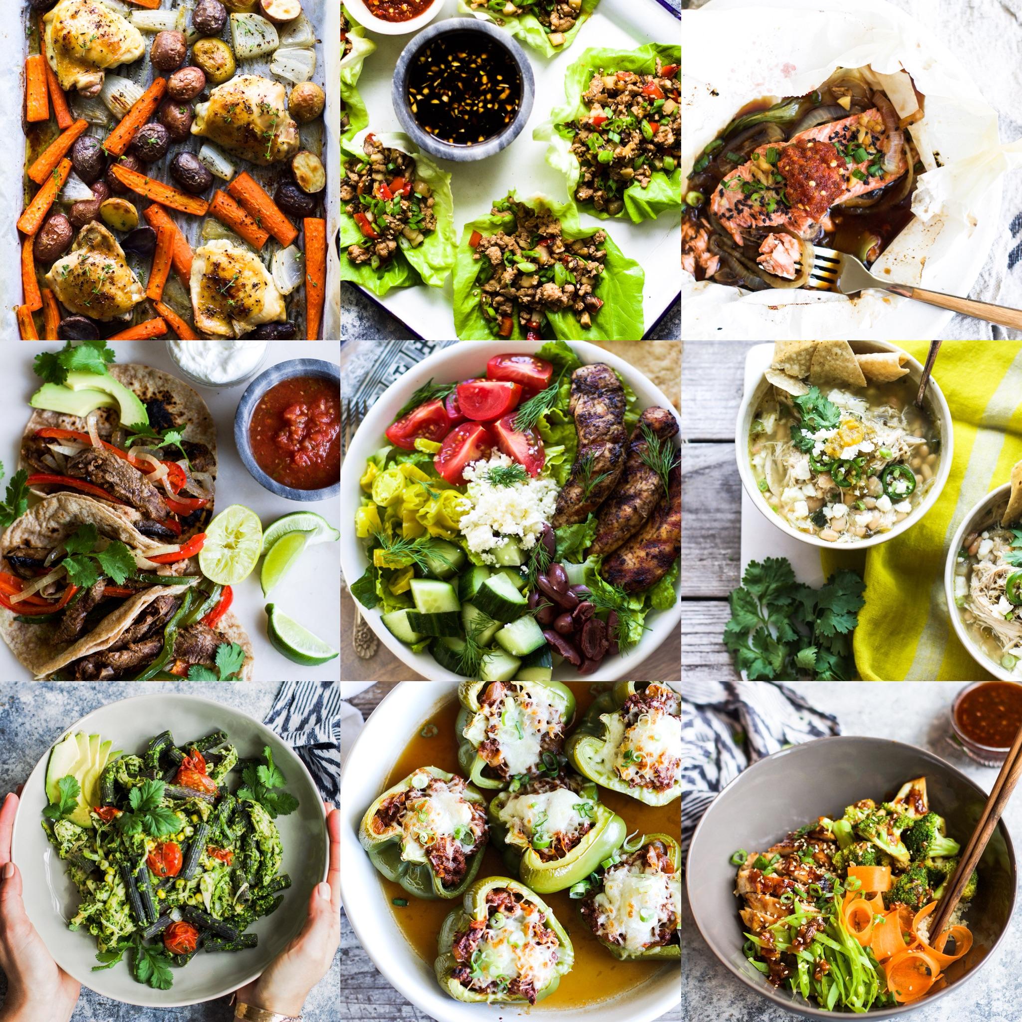 Top Ten Easy Weeknight Dinners: My Diary of Us