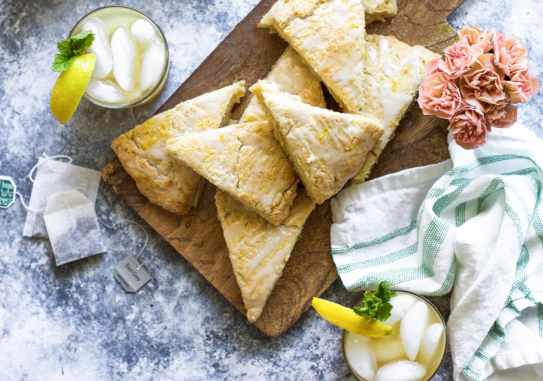 Earl Grey Lemon Scones and Iced Green Tea: My Diary of Us