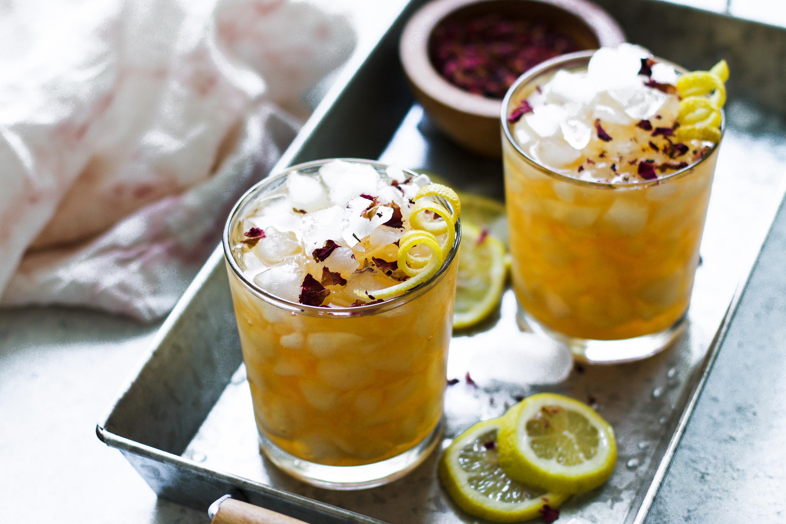 Lemon Rose Iced Tea: My Diary of Us