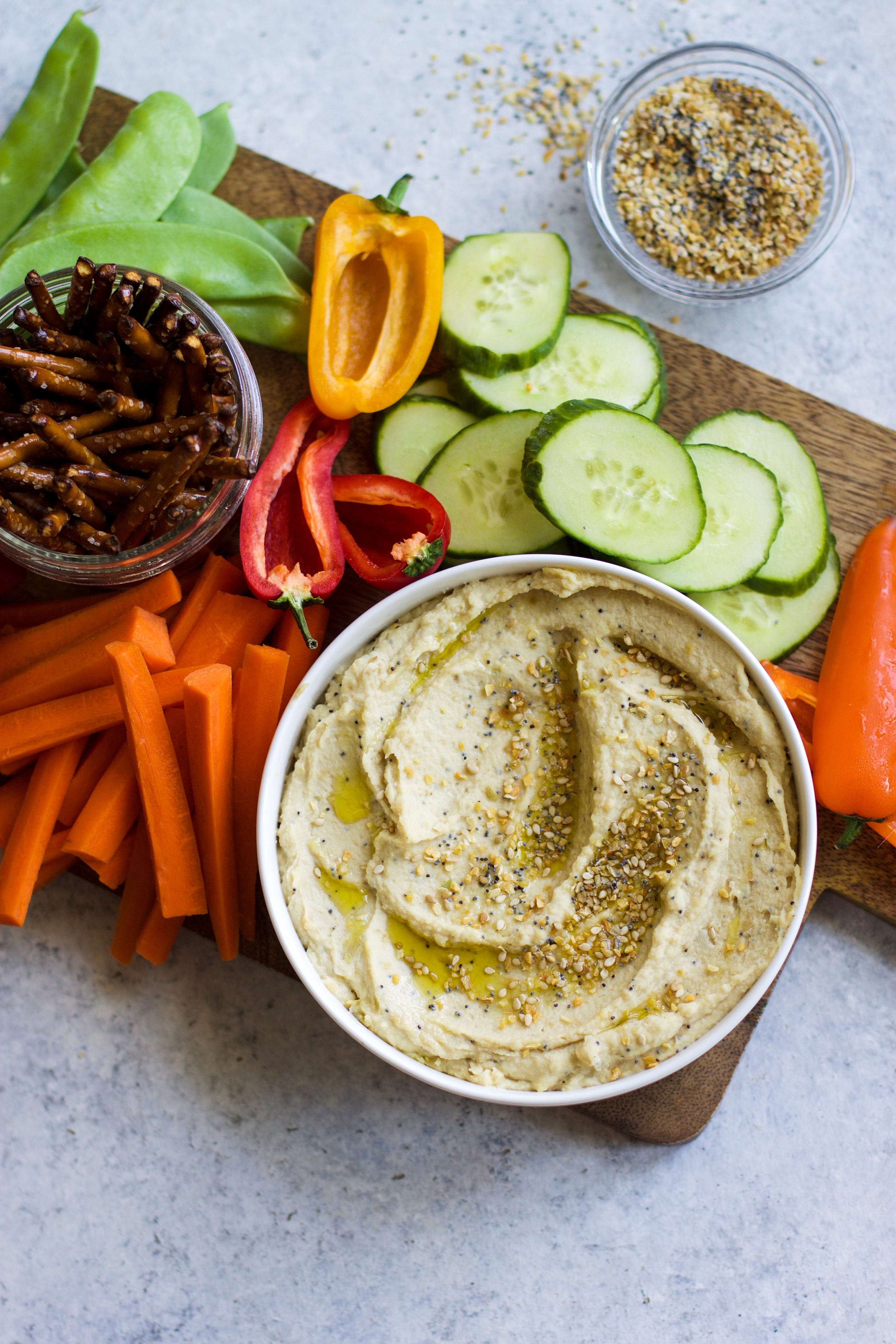 Everything Bagel Hummus: My Diary of Us