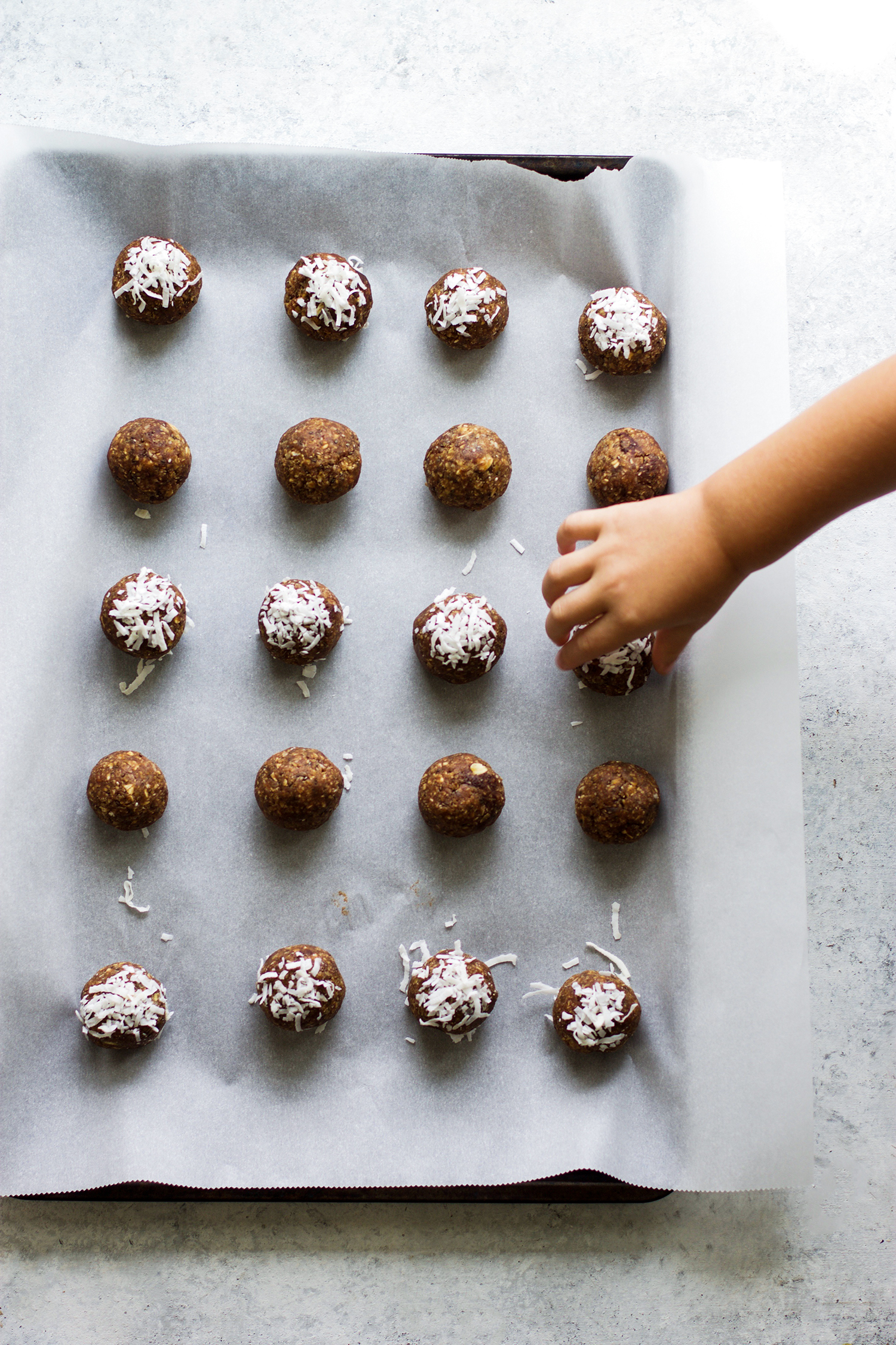 Chocolate Coconut Energy Balls: My Diary of Us