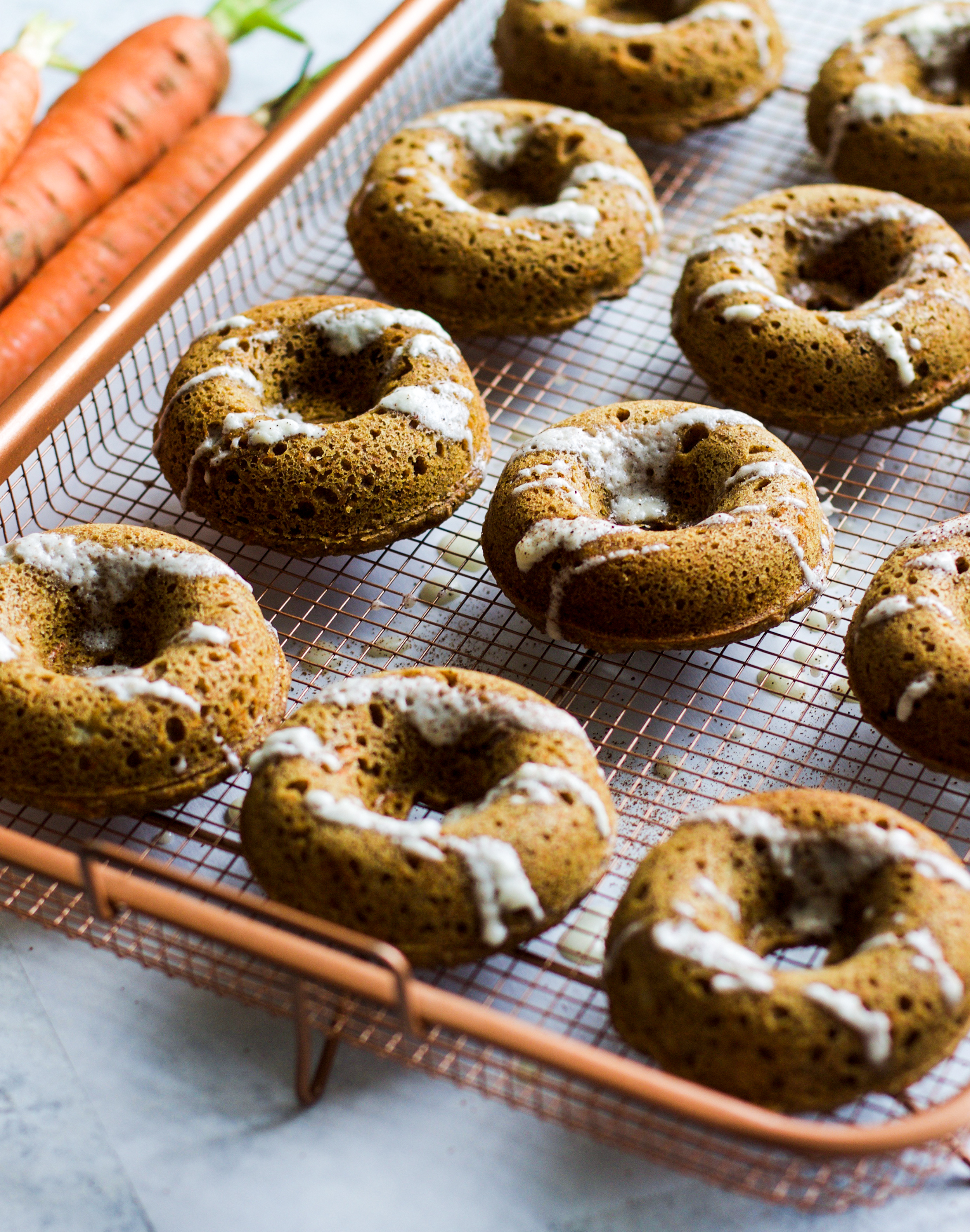 Healthy Carrot Cake Donuts: My Diary of Us