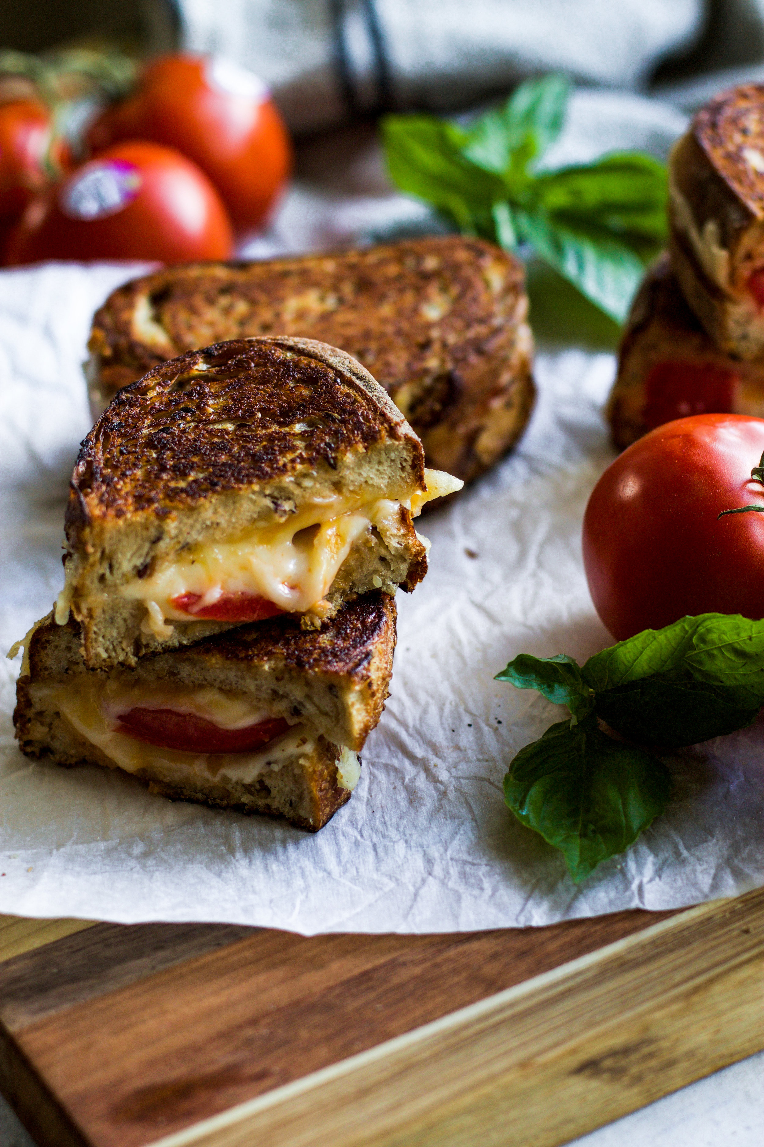 Grilled Tomato and Cheese Sandwich: My Diary of Us