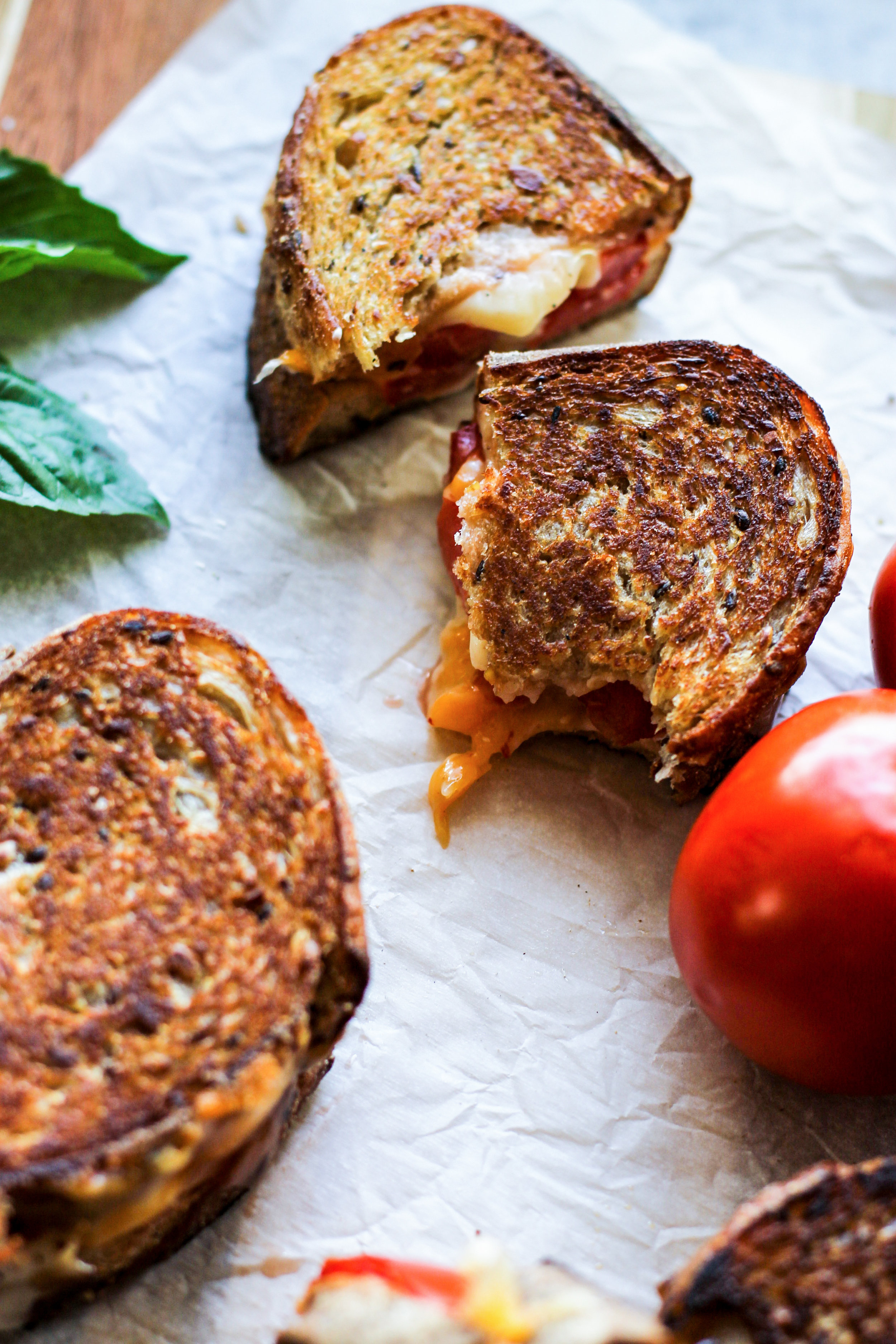 Grilled Tomato and Cheese: My Diary of Us