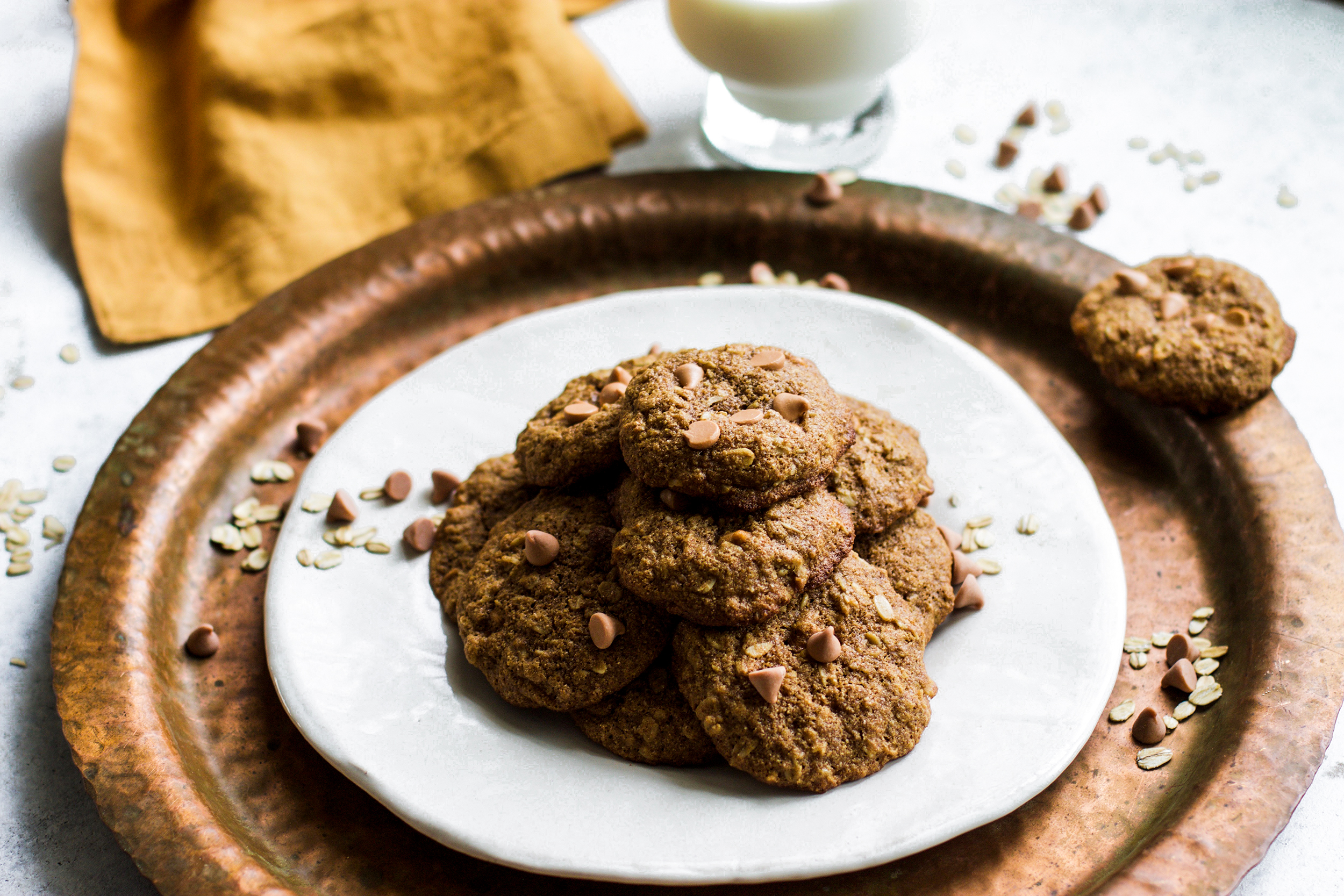Healthier Oatmeal Scotchies: my Diary of Us