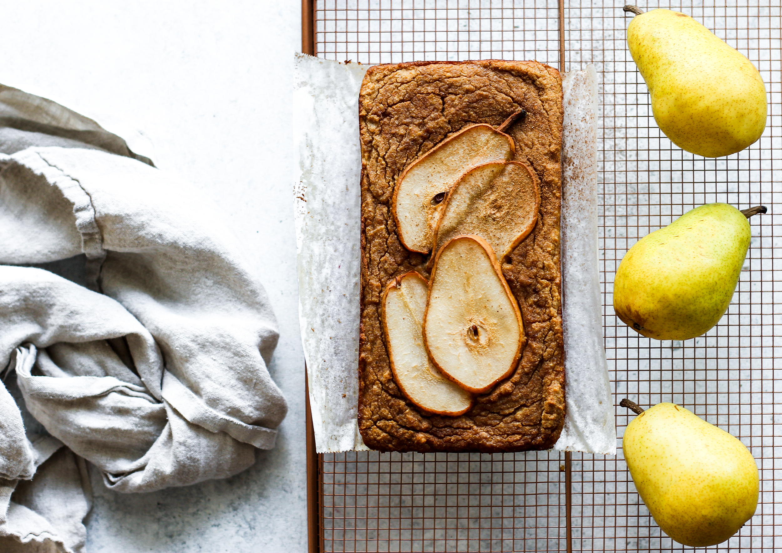 Gluten Free Spiced Vanilla Pear Bread: My Diary of Us