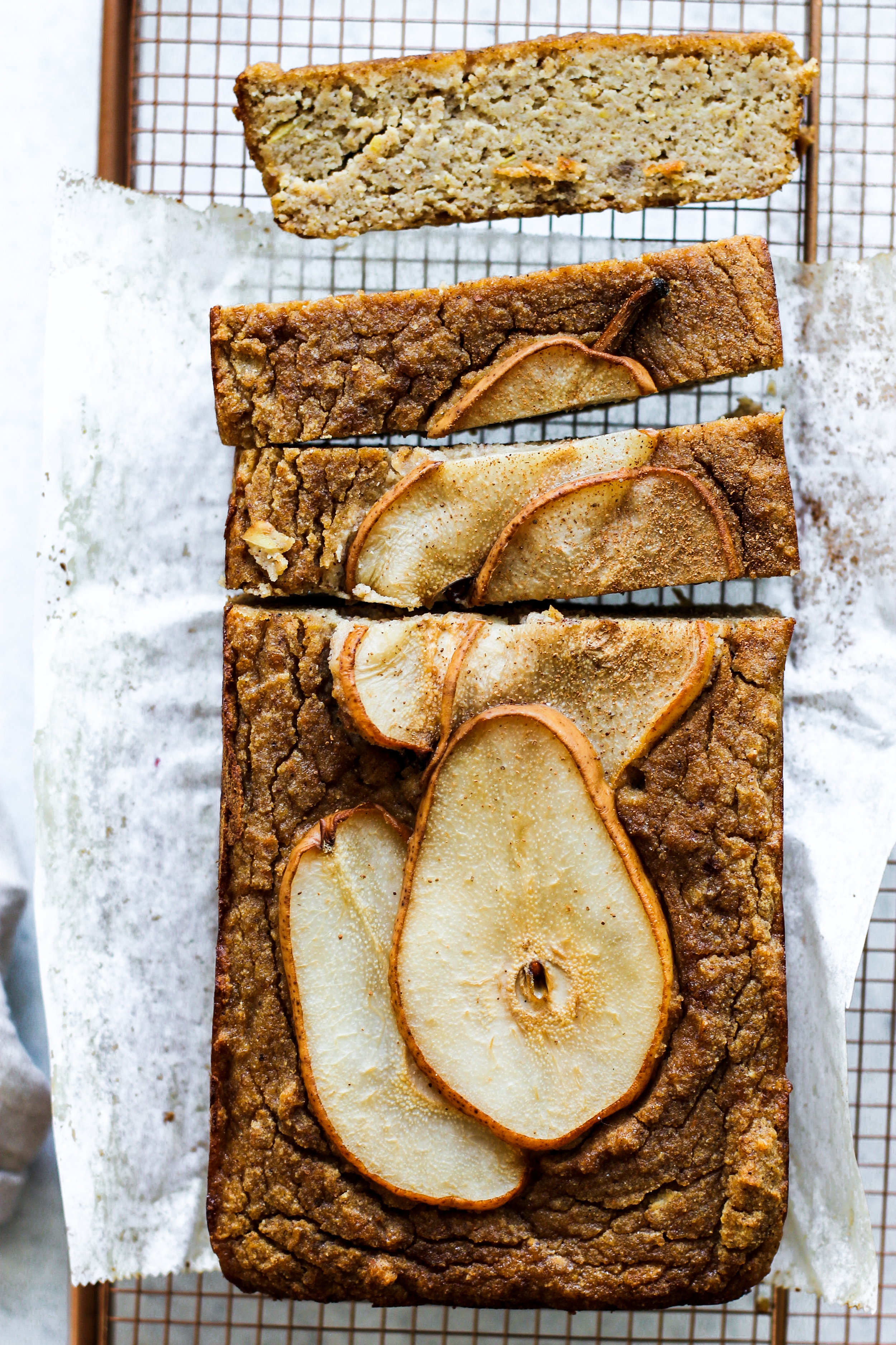 Gluten Free Spiced Vanilla Pear Bread: My Diary of Us
