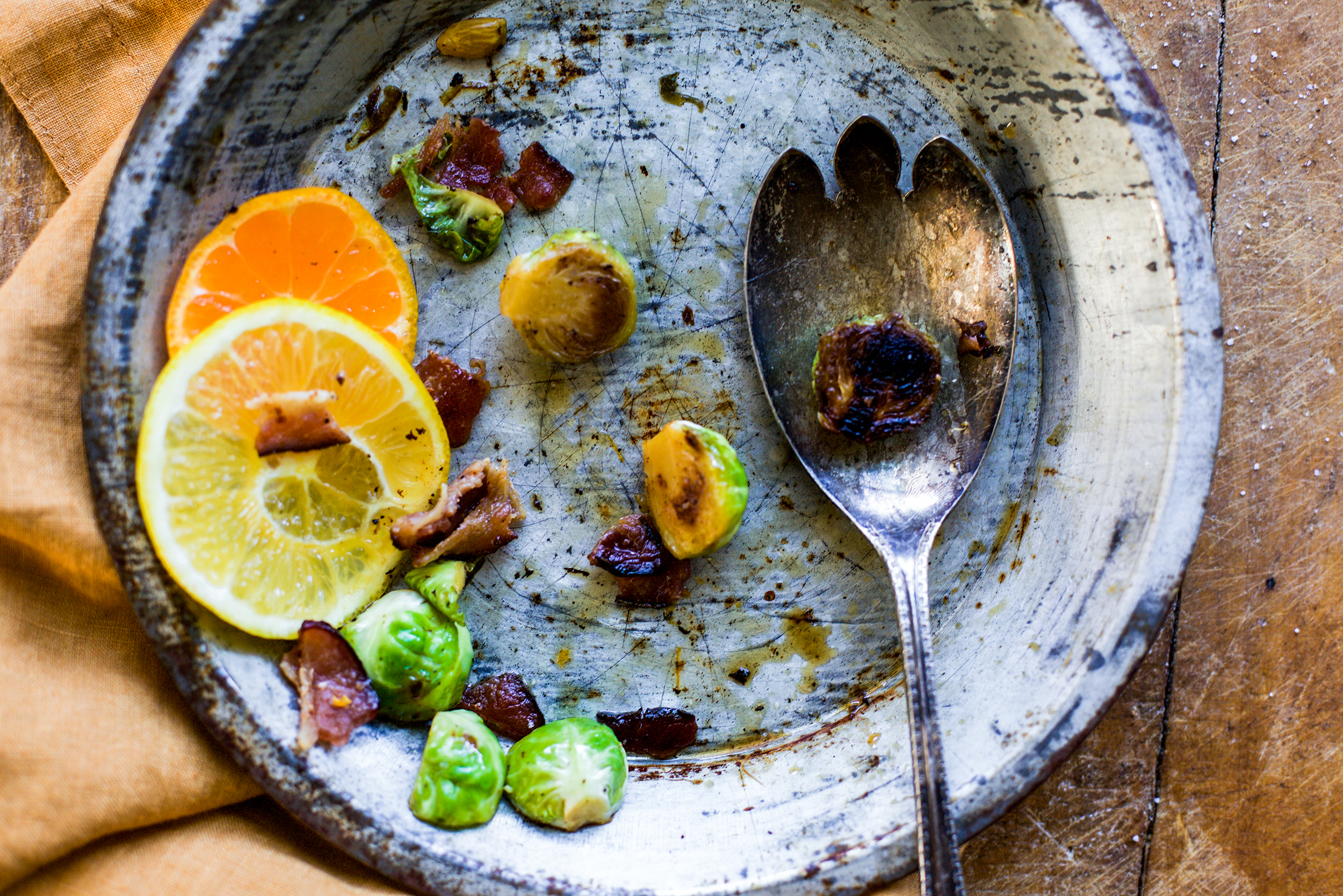 Citrus Bacon Brussel Sprouts: My Diary of Us