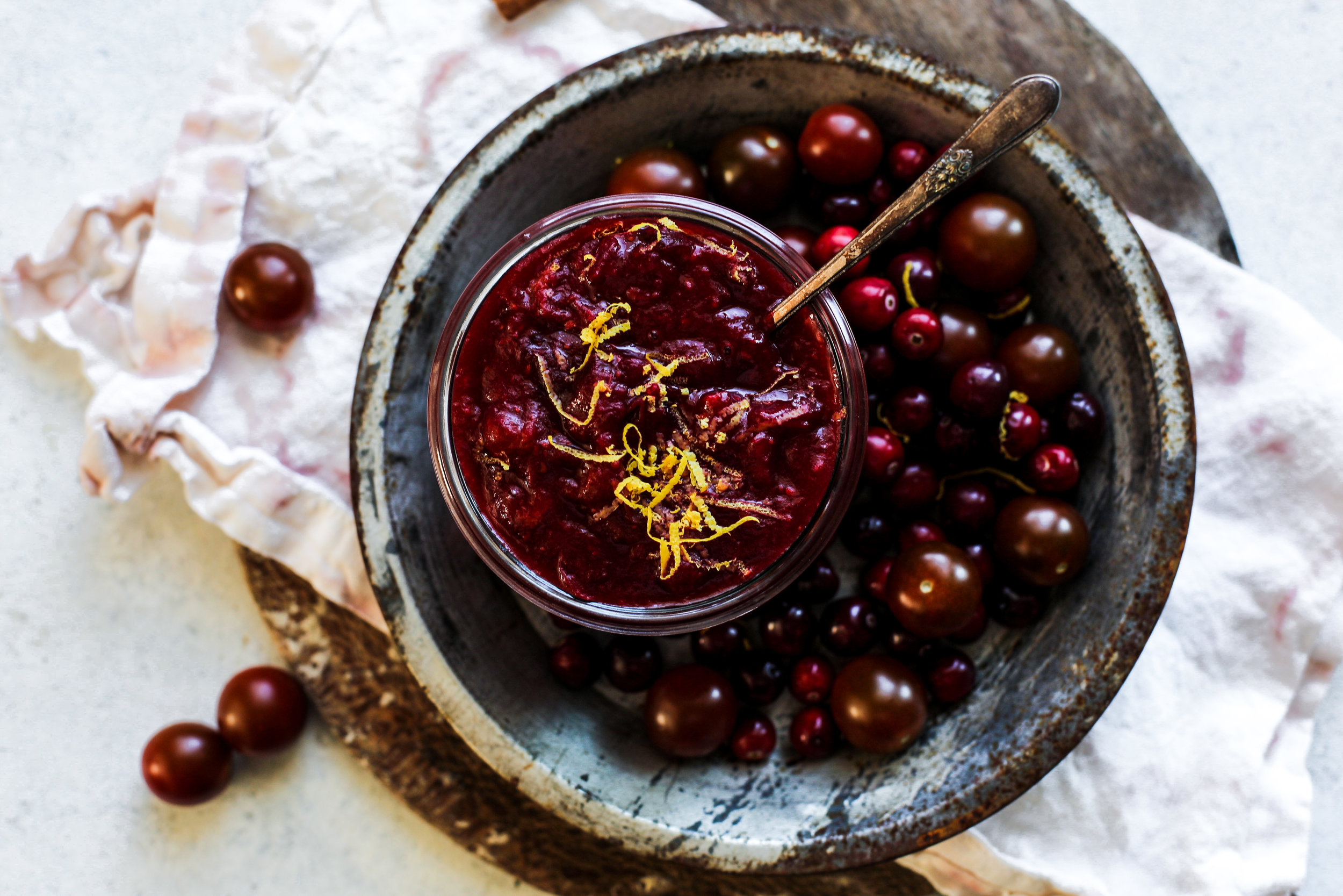 Spiced Tomato Cranberry Sauce: My Diary of Us