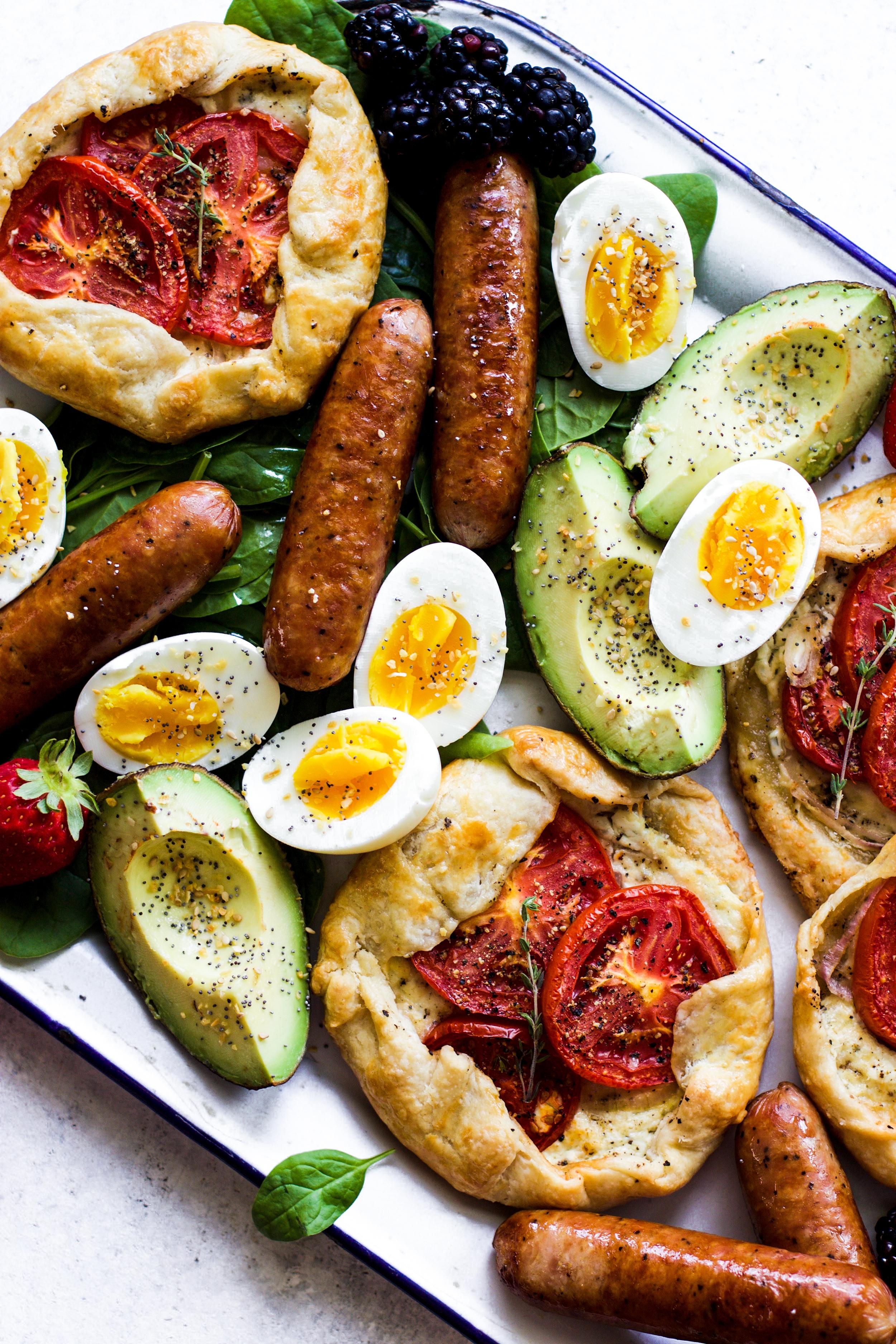 Easy Tomato Galette Breakfast Platter: My Diary of Us