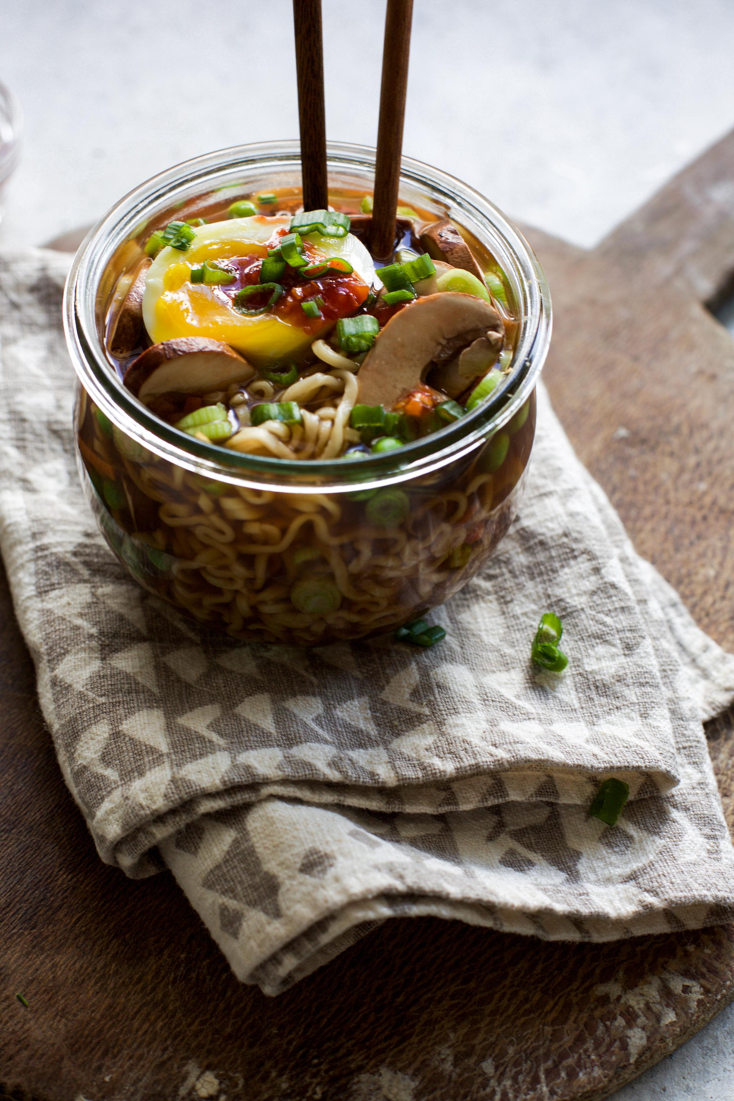 Easy Single Serving Veggie Ramen Bowls: My Diary of Us