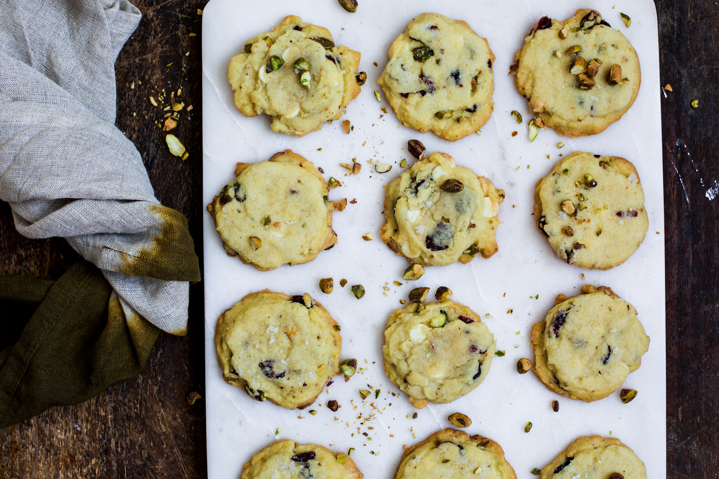 Cranberry Pistachio Sugar Cookies: My Diary of Us