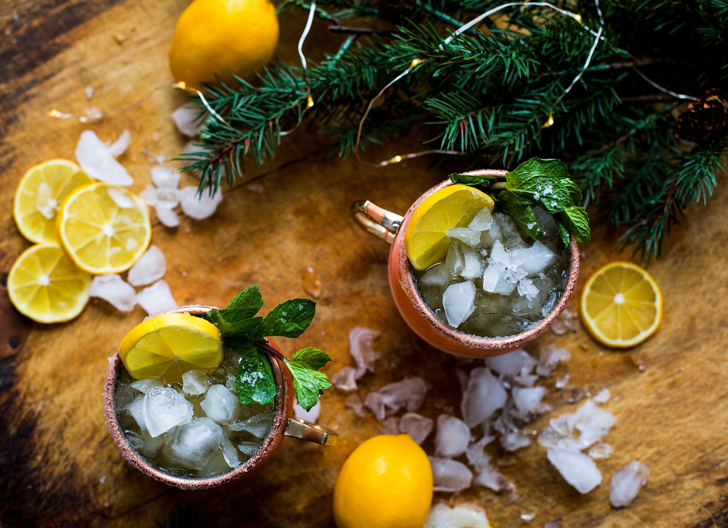 Meyer Lemon Bourbon Mule: My Diary of Us