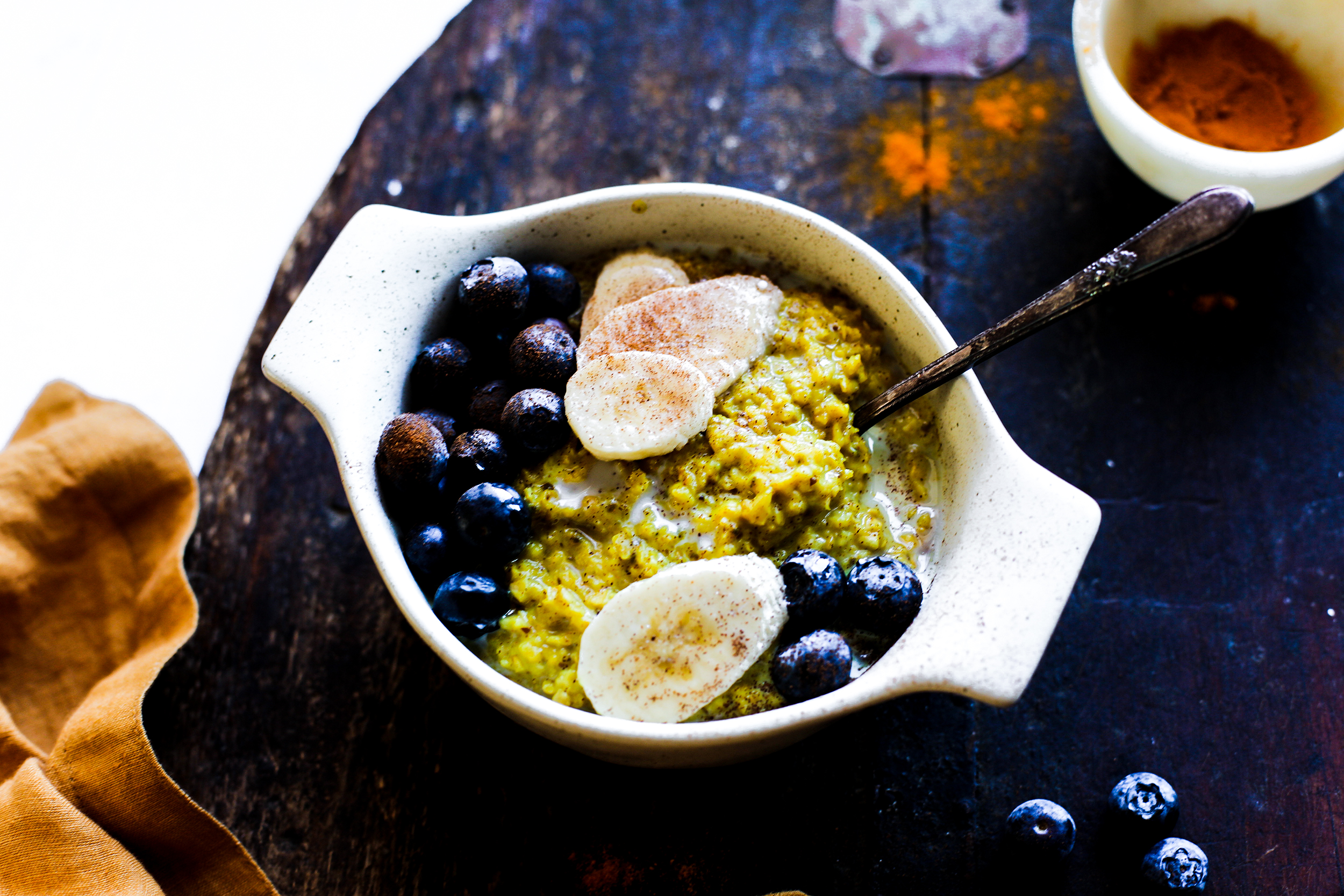 Golden Milk Overnight Steel Cut Oats: My Diary of Us