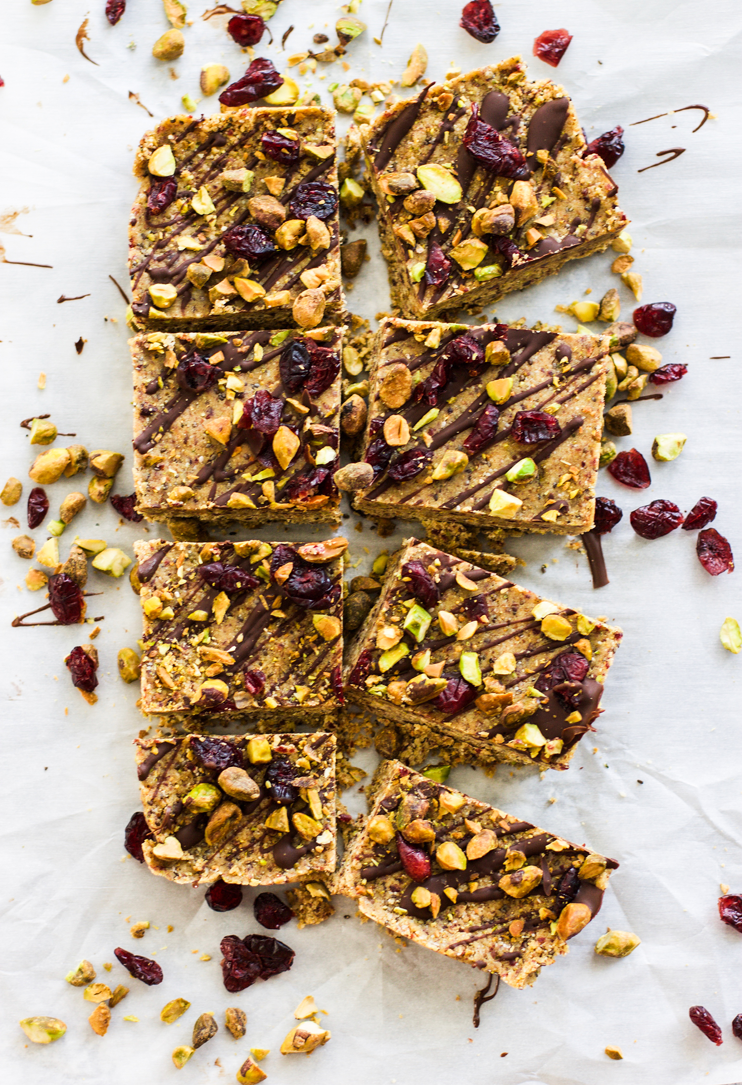 Gluten Free Pistachio Cranberry Bars: My Diary of Us