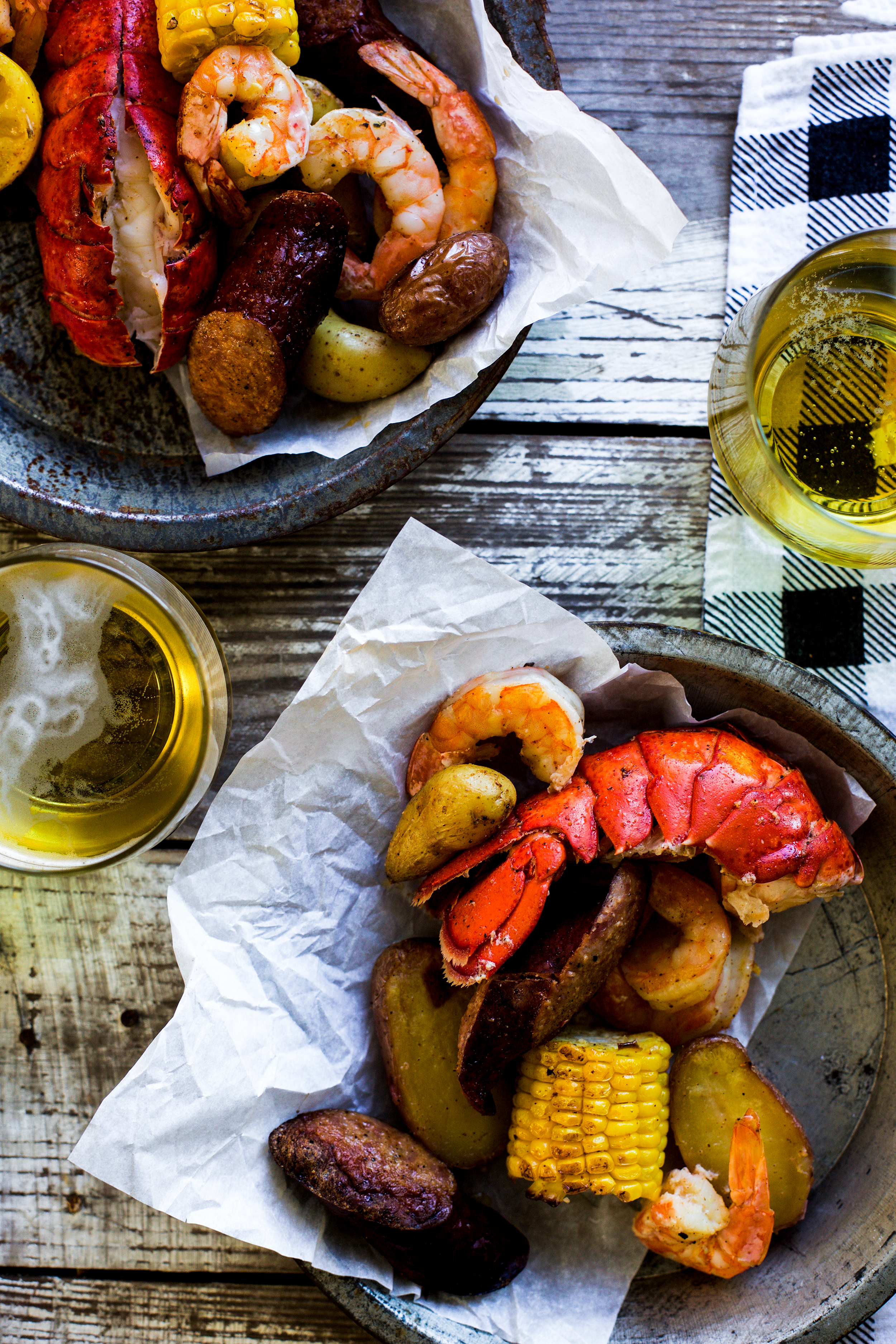 Easy Sheet Pan Cajun Lobster Bake: My Diary of Us