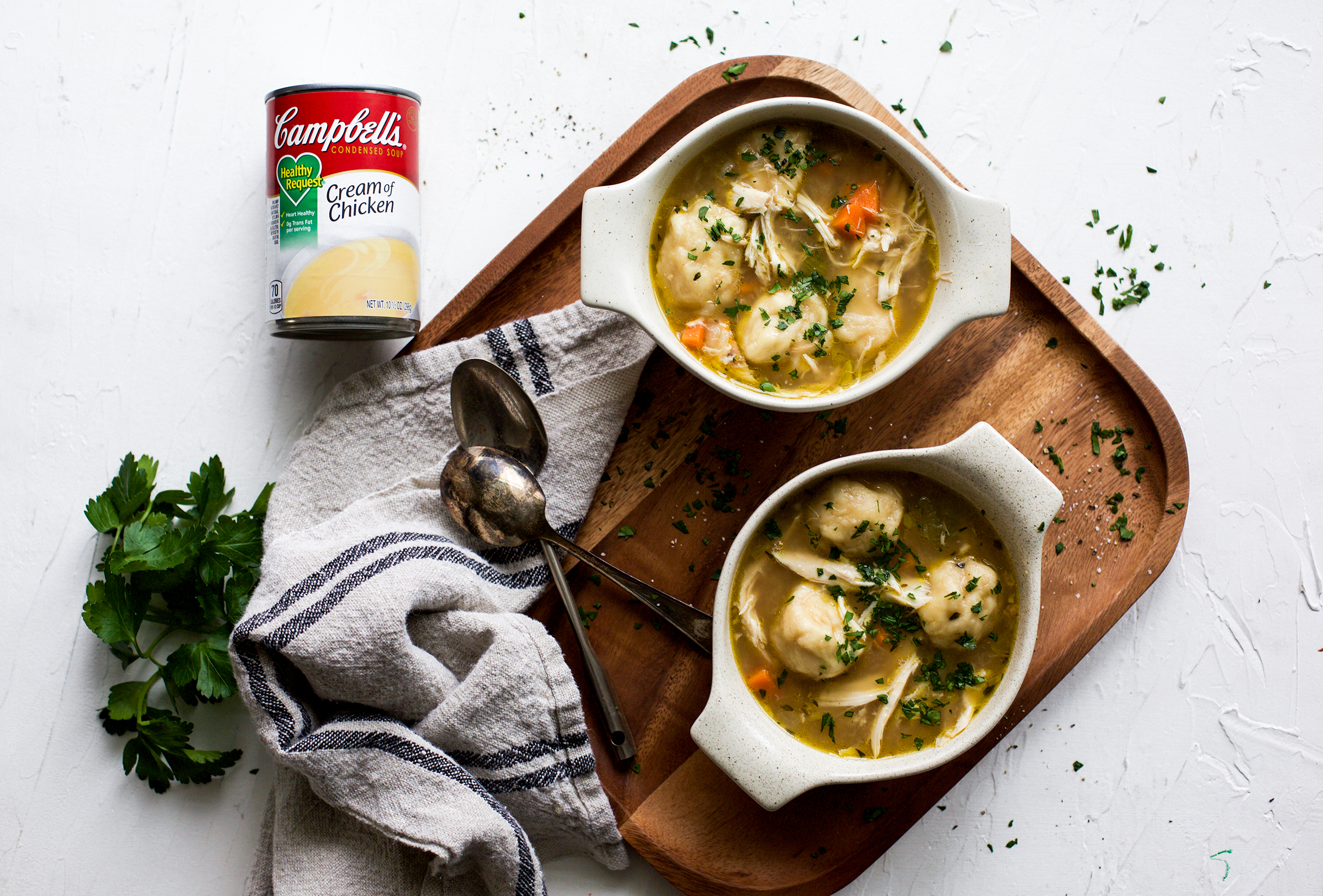 Easy Chicken and Dumplings: My Diary of Us