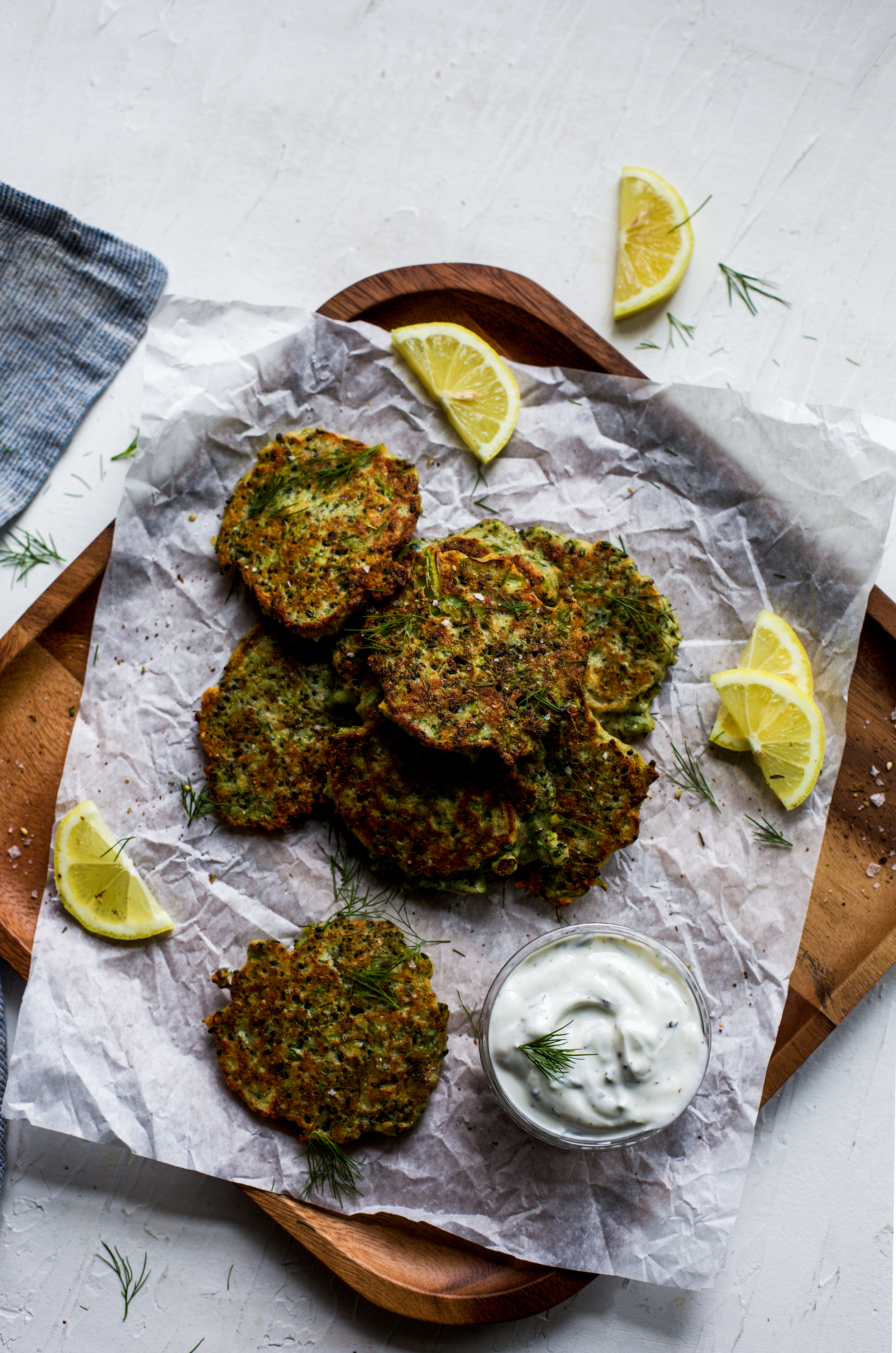 Easy Gluten Free Broccoli Cheese Fritters