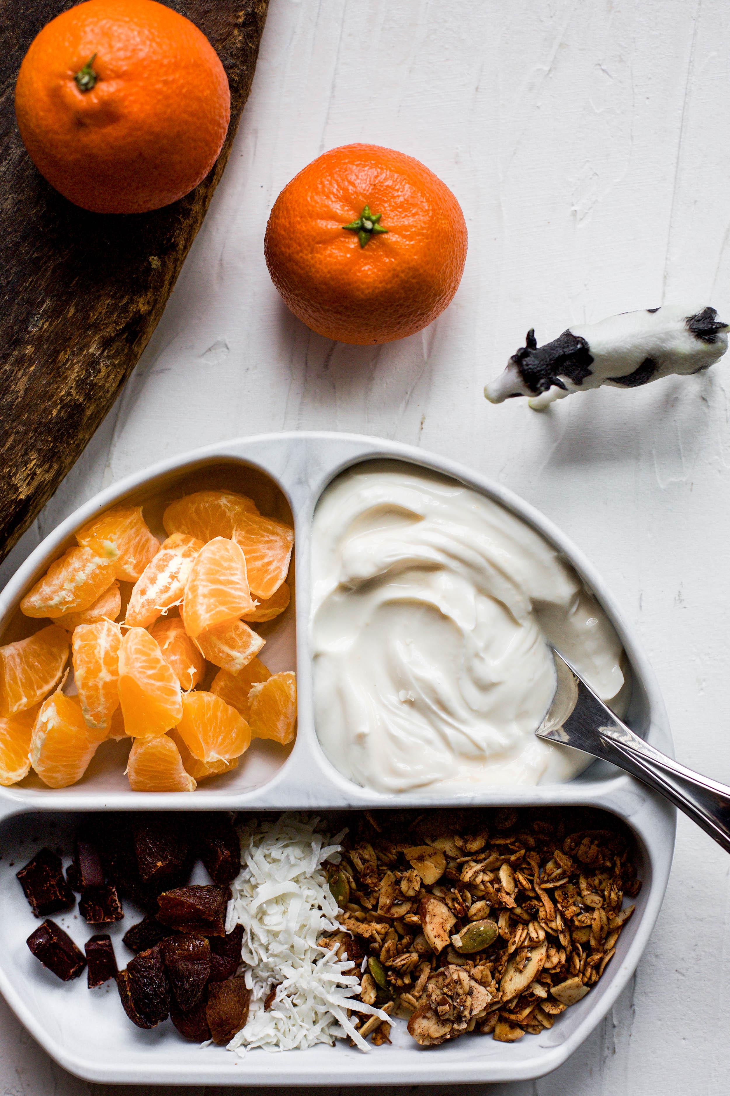 Deconstructed Vanilla Citrus Yogurt Bowls