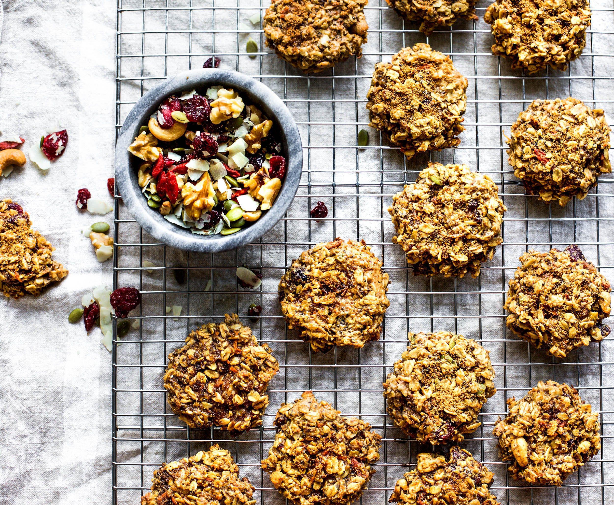 Breakfast Cookies with Peanut Butter