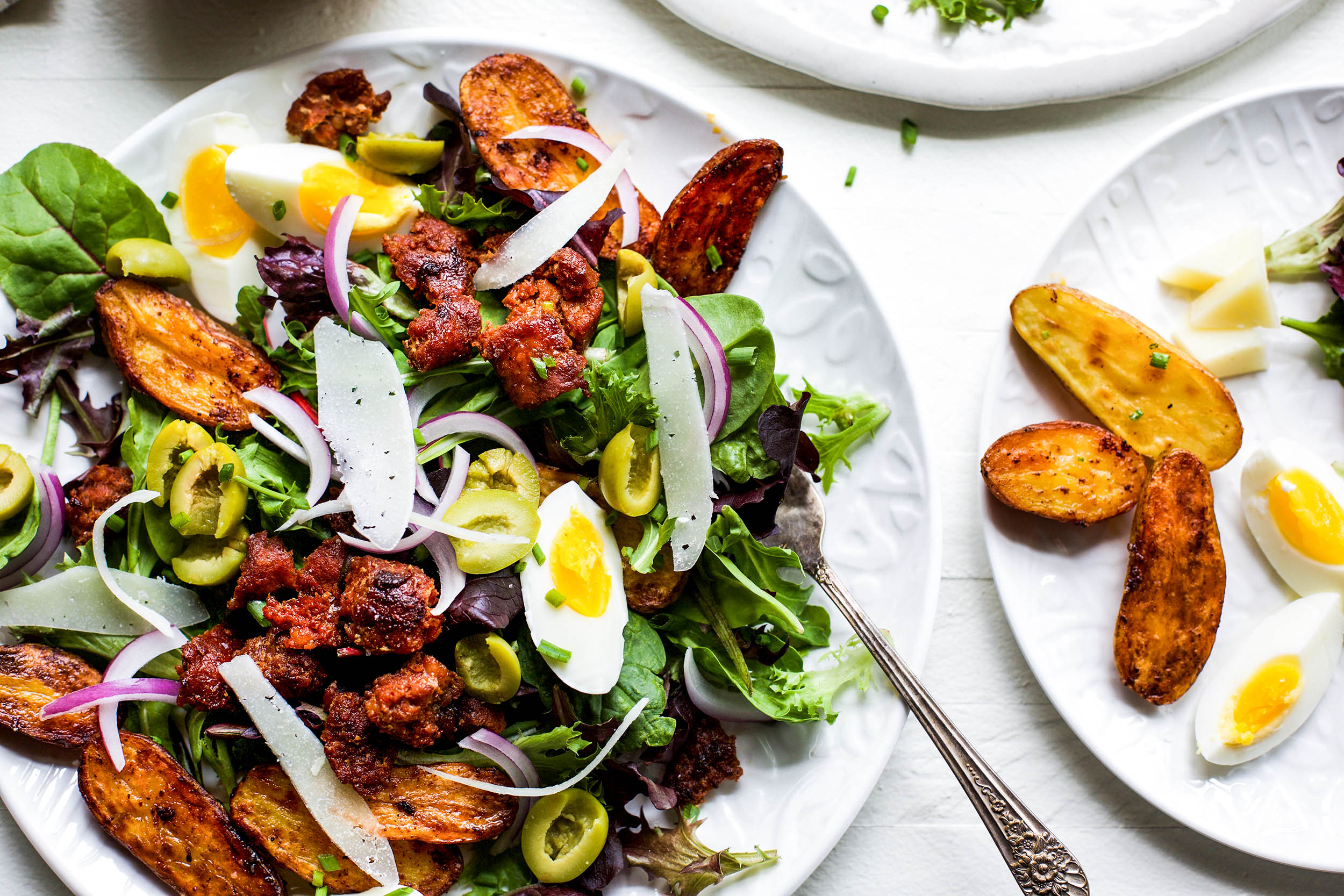 Spanish Breakfast Salad