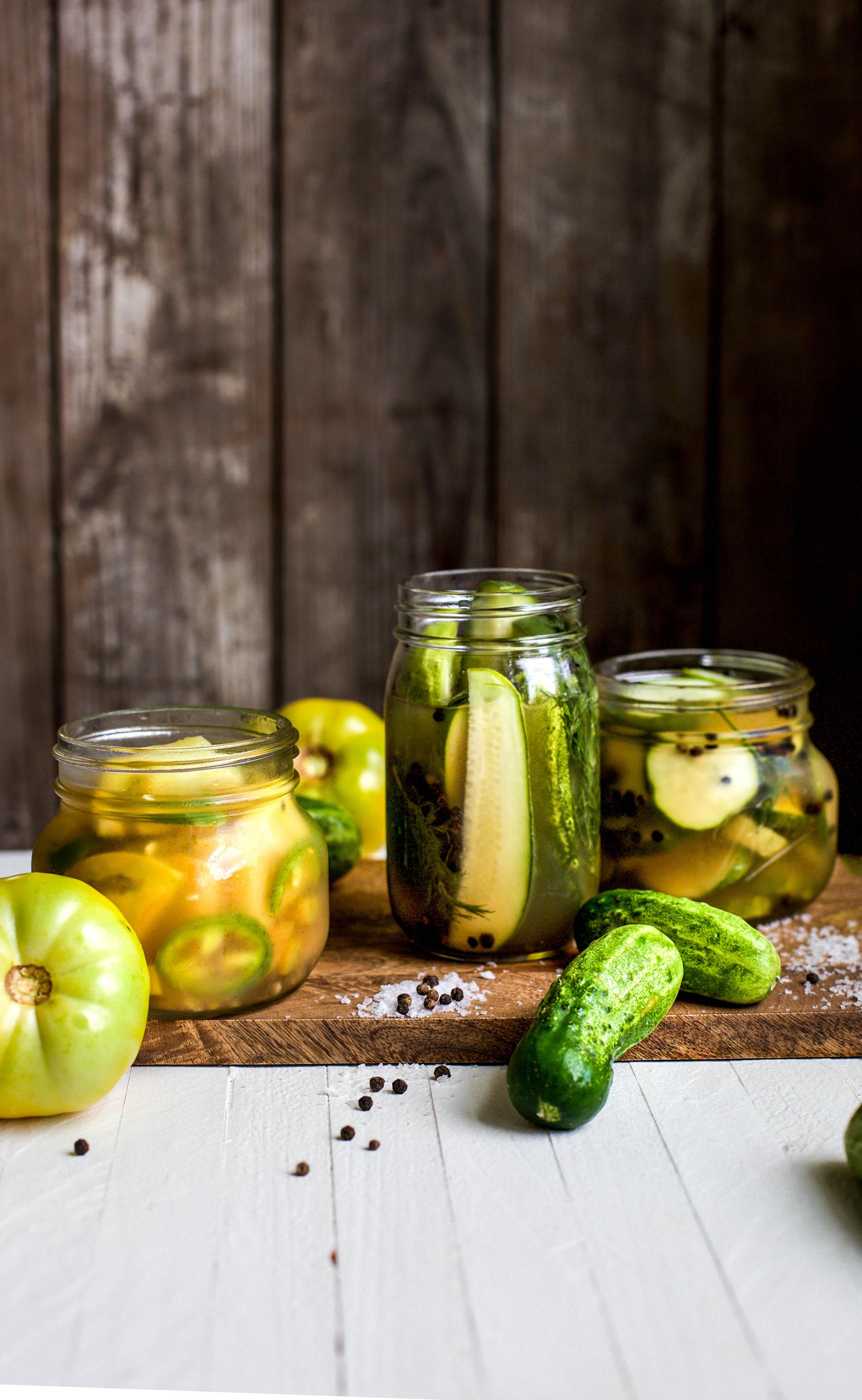 Easy Refrigerator Pickling Recipe