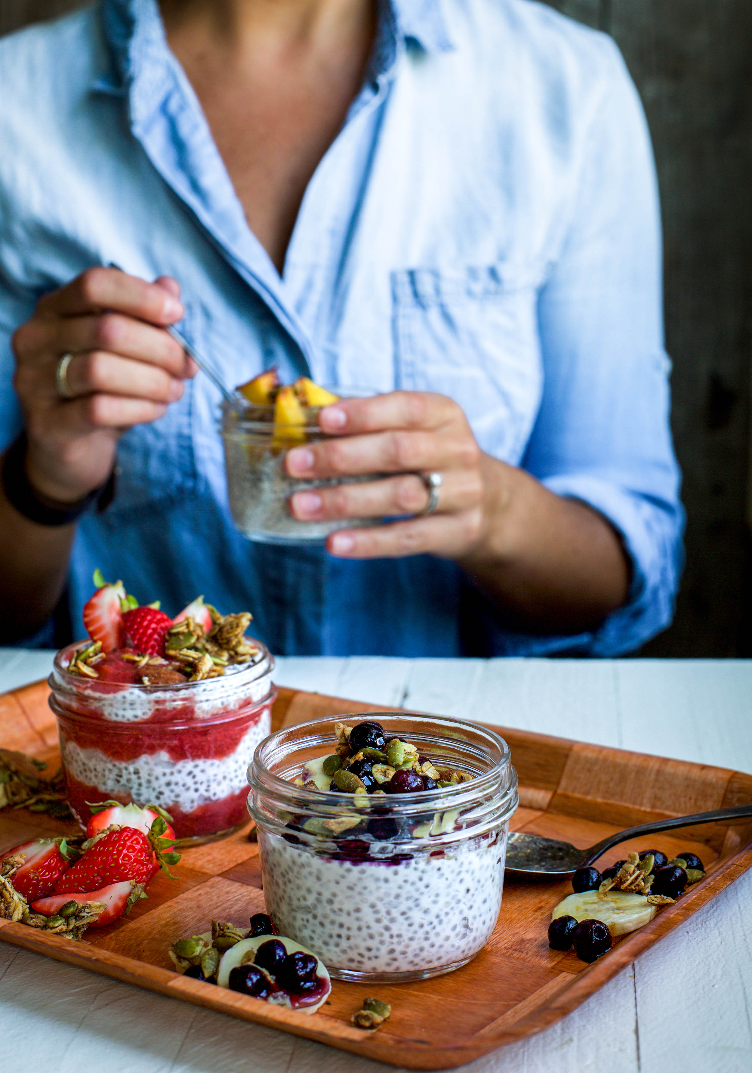 Easy Chia Pudding, Three Ways