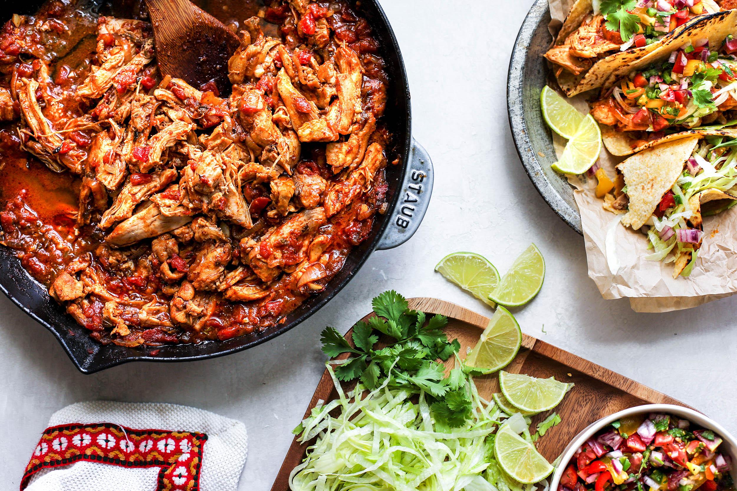 Chicken Taco Ingredients