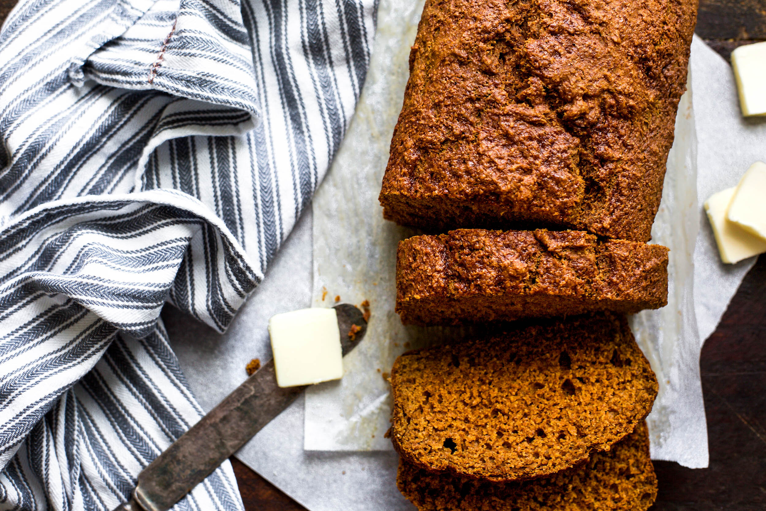 Healthy Spiced Pumpkin Bread