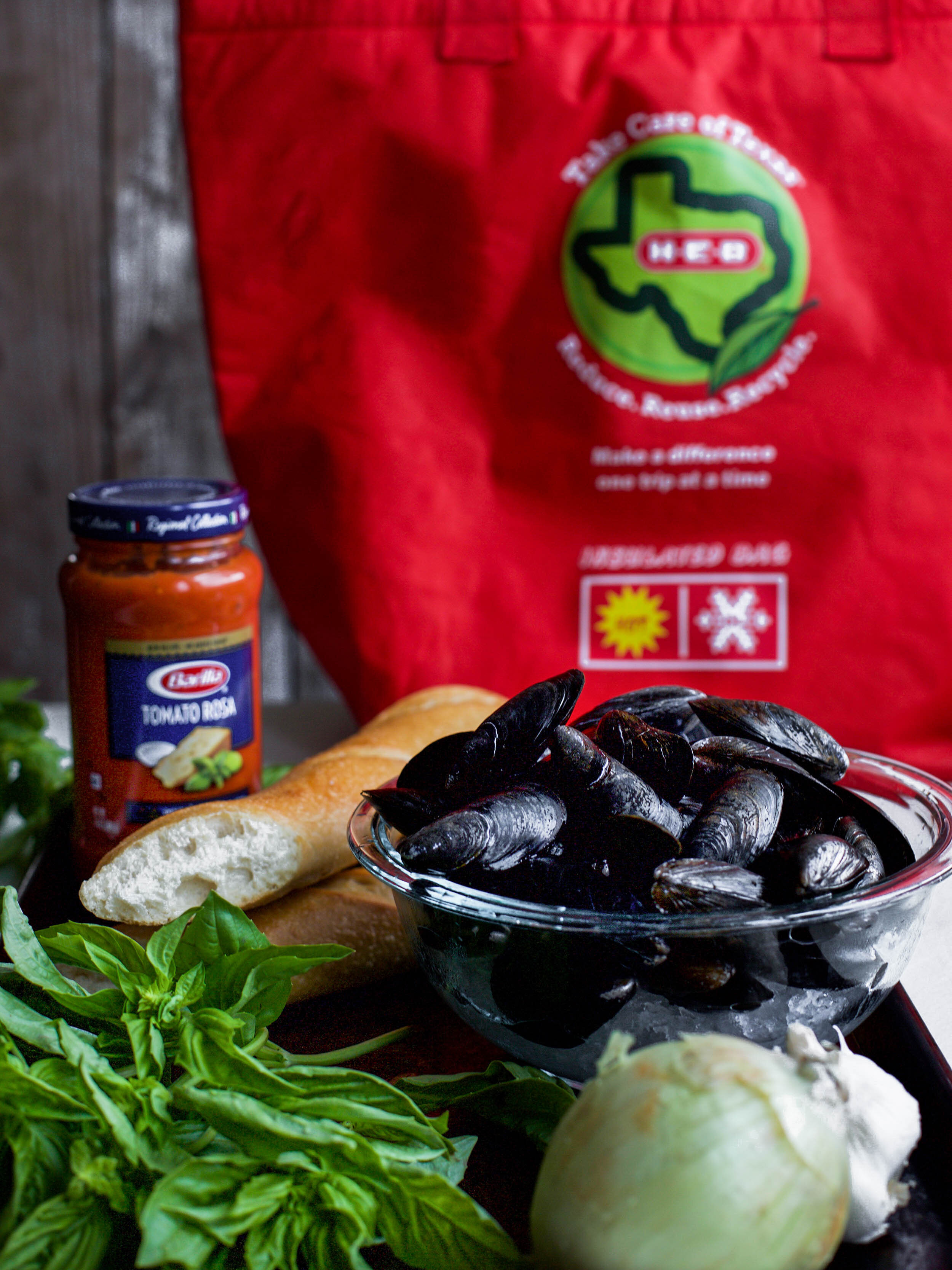 Marinara Steamed Mussels