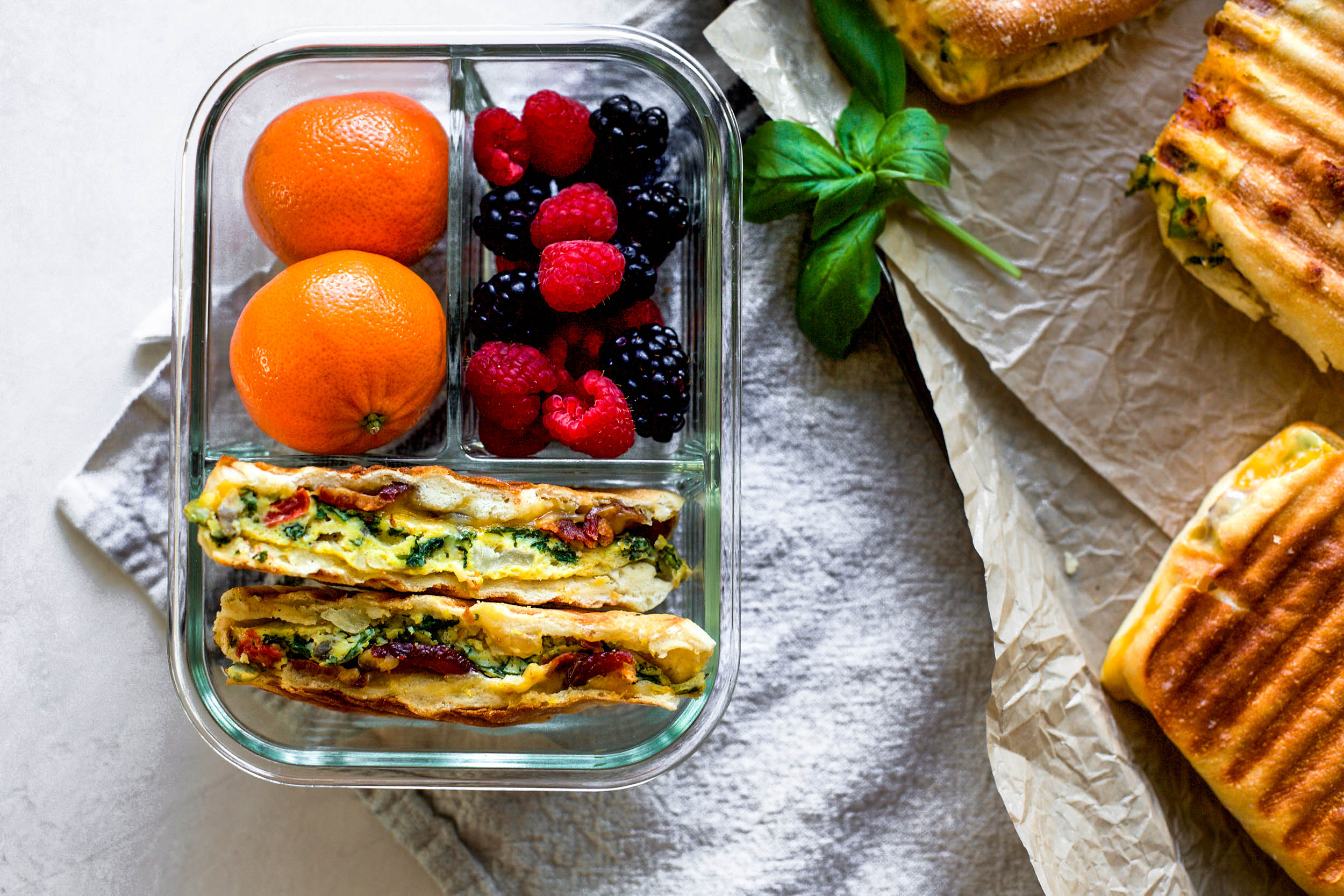 Meal Prep Breakfast Panini