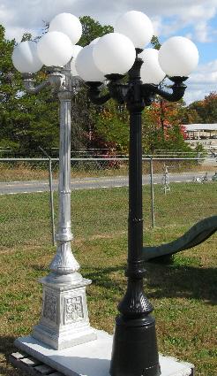 Cast Aluminum Lamp Posts