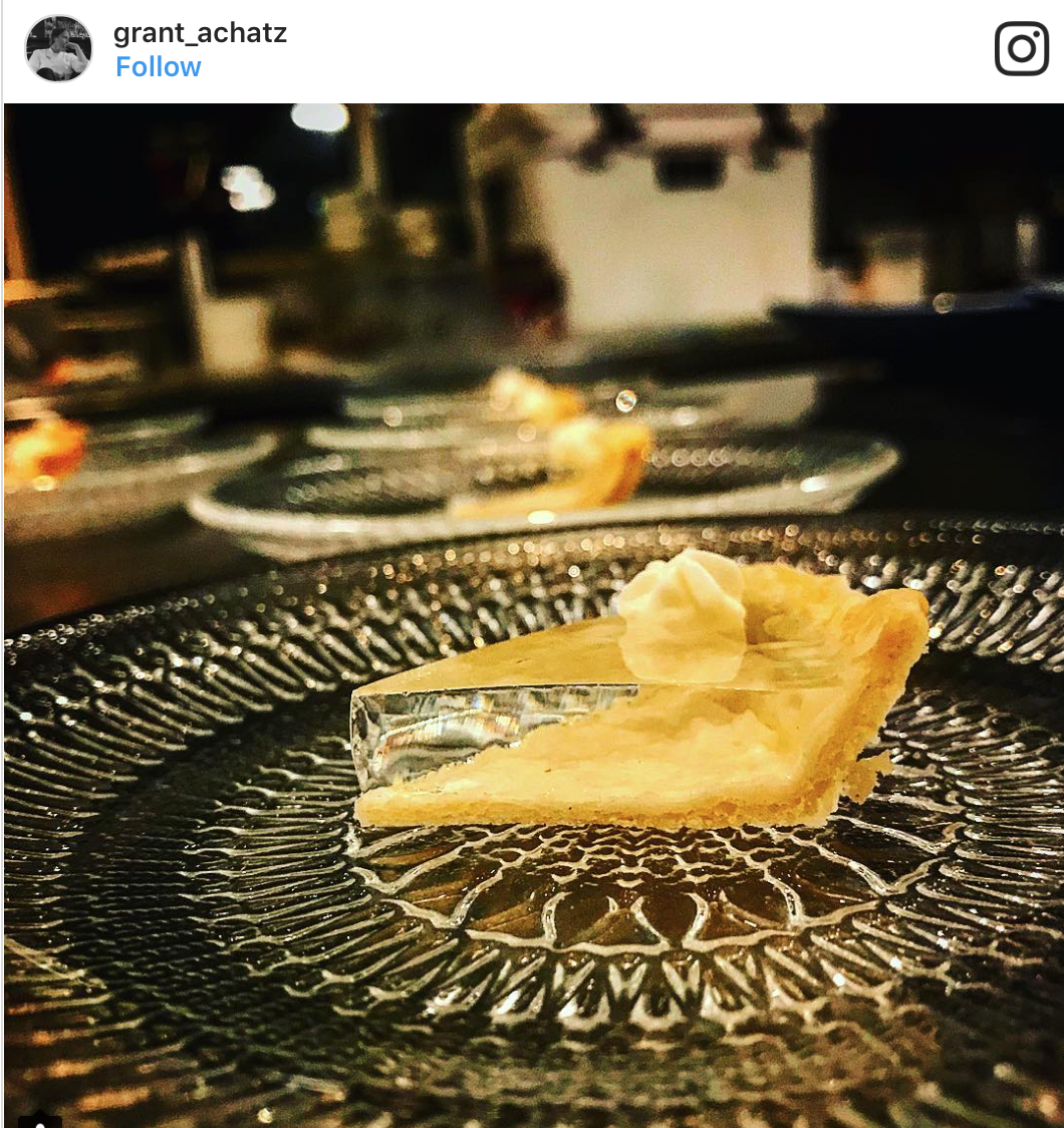 All about this crazy clear pumpkin pie! Alinea team, you have indeed done it again!