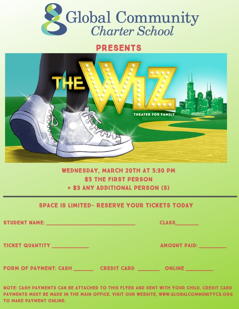 Click here to buy The Wiz tickets online
