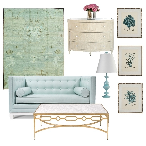 Get the Look aqua inspiration