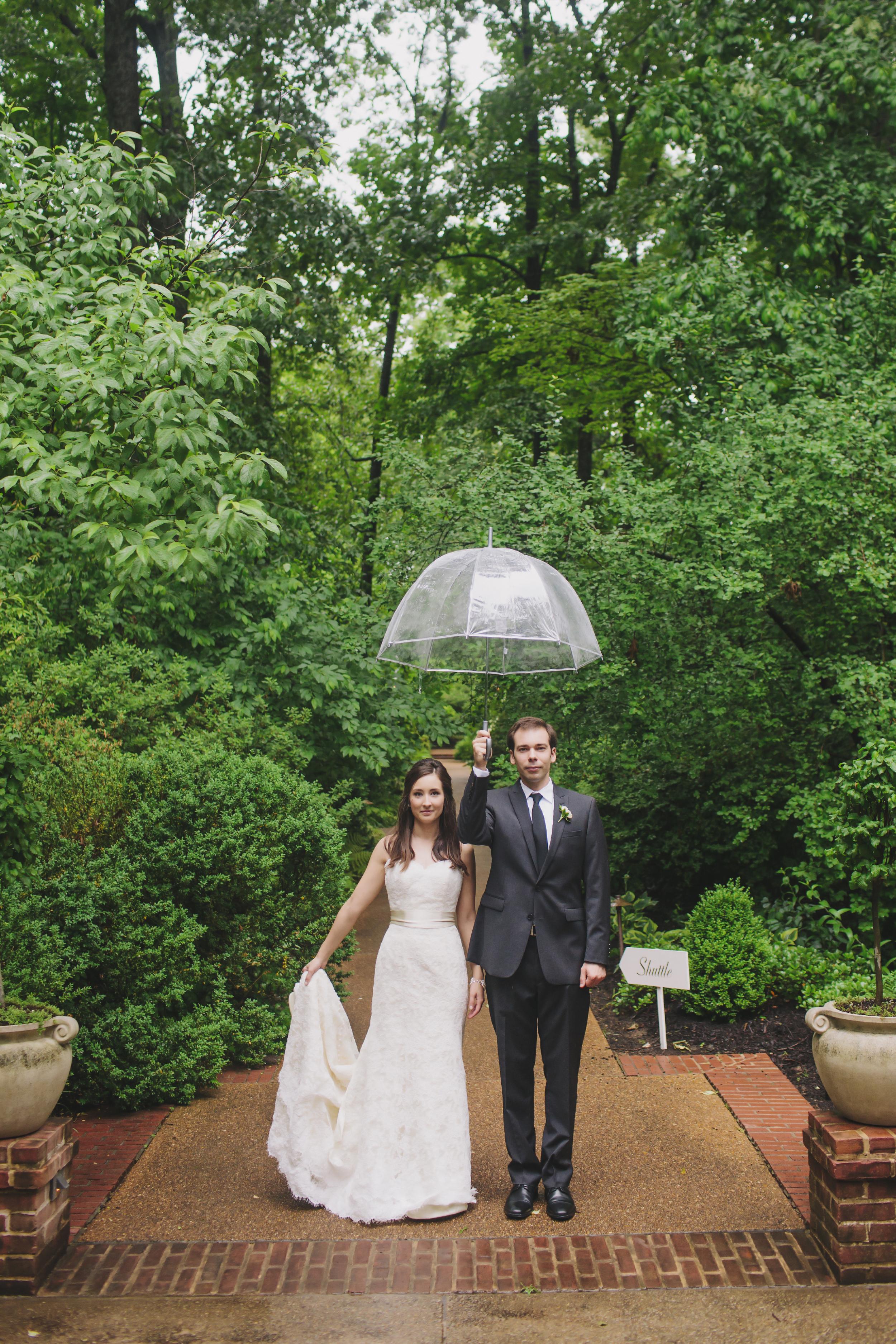 Dixon Gardens Wedding Couple