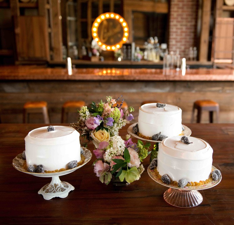 The historic  Lady Baltimore  cake beatuifully executed by the fabulous  Sugar Bakeshop , Floral by  Out of the Garden , Photography by  Reese Moore  and Planning by  Lauren M. Creative Weddings